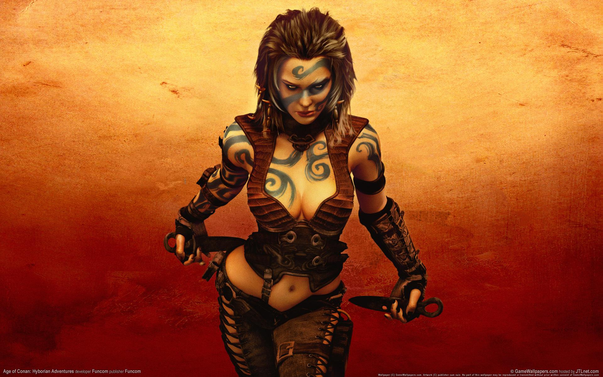 Girl fucking barbarian sexy pic