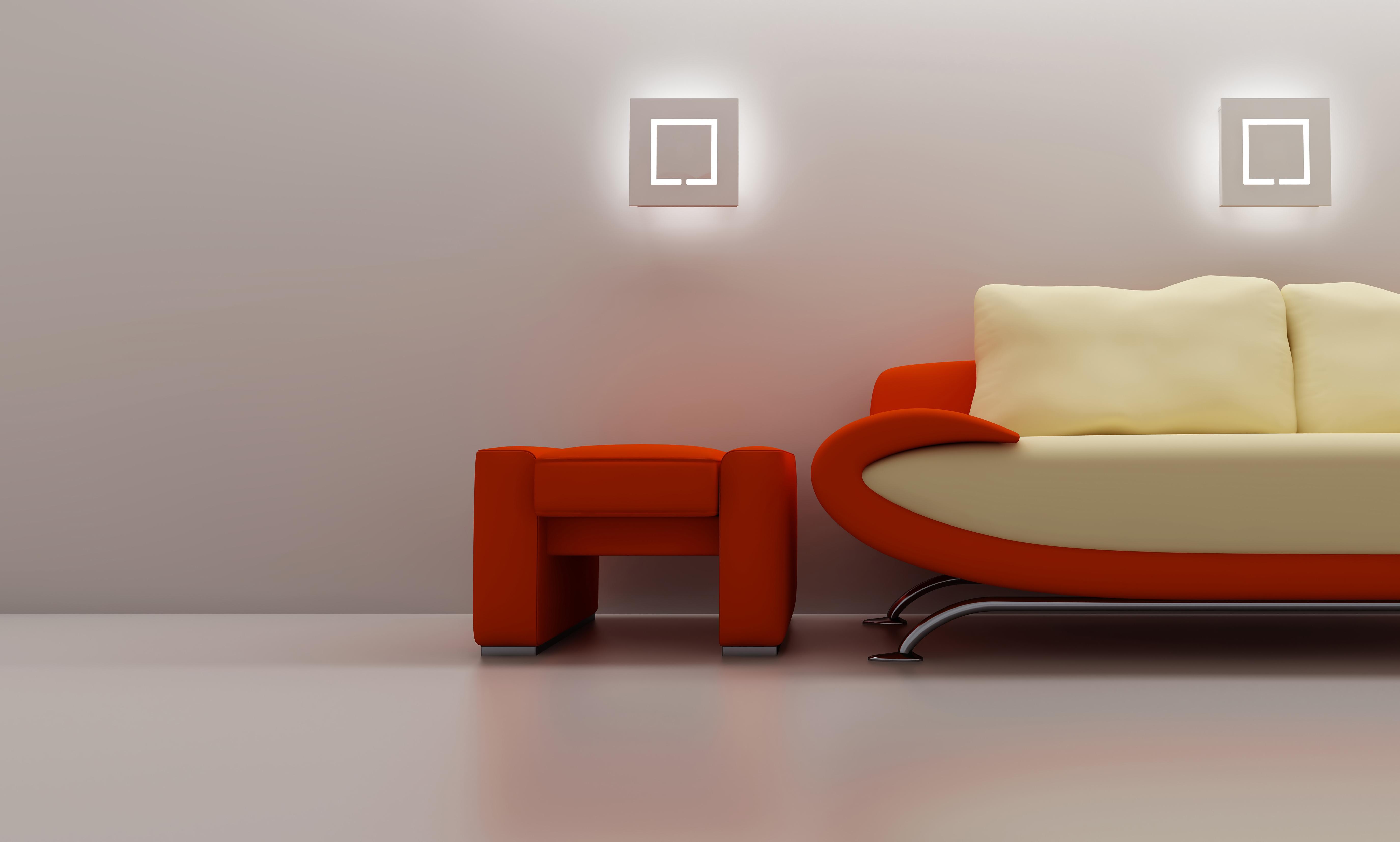 Красный диван бесплатно