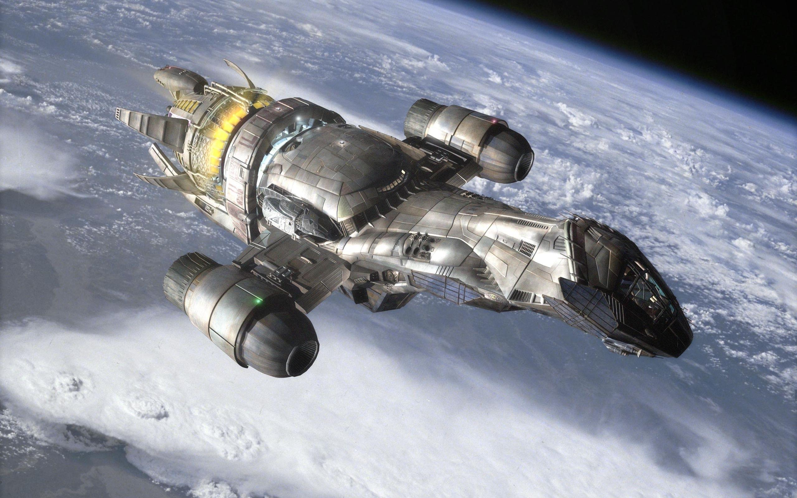 Обои космический корабль картинки на рабочий стол на тему Космос - скачать скачать
