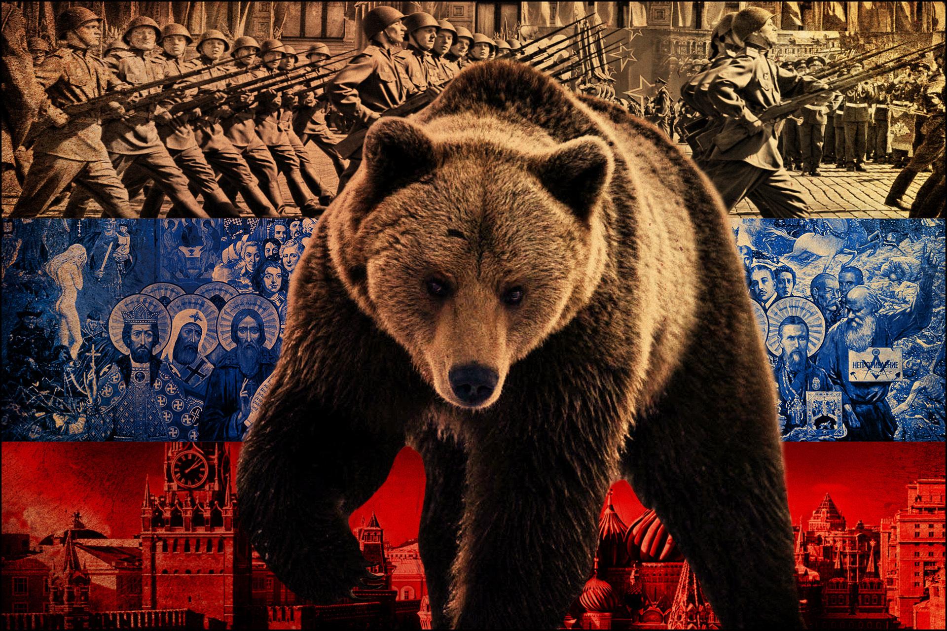 втором медведь флаг россии обои практике эффективность