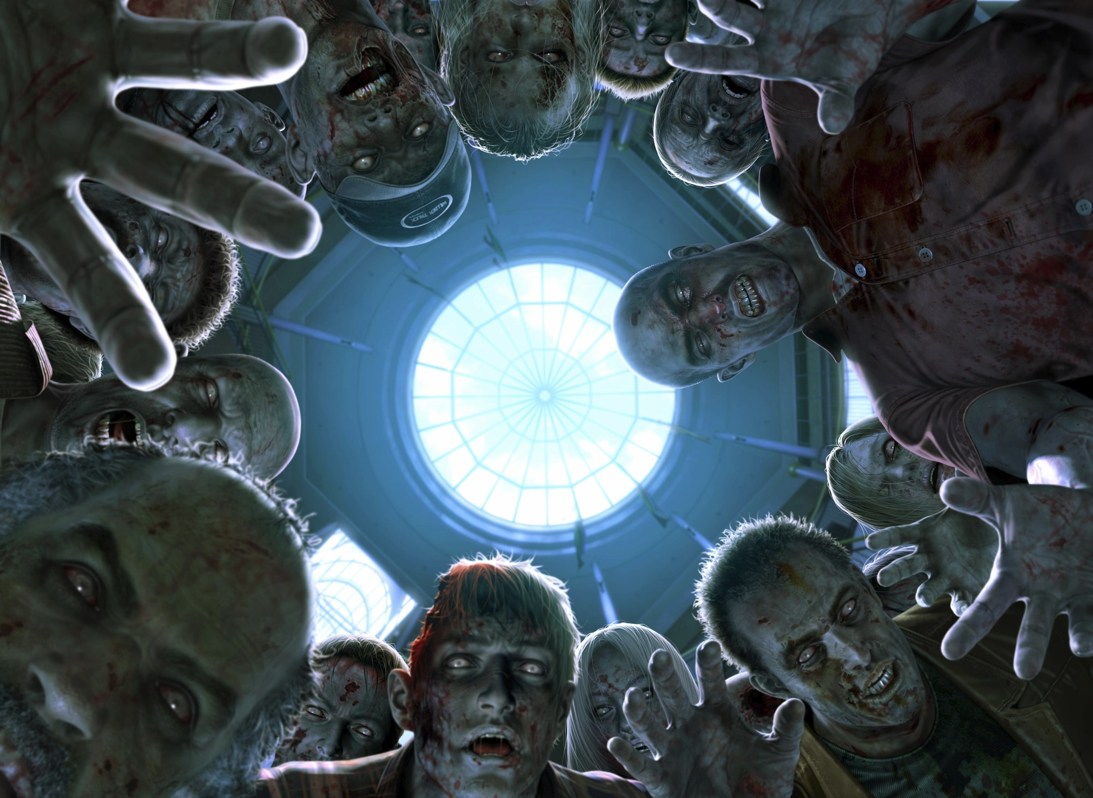 Обои на рабочий стол которые двигаются зомби