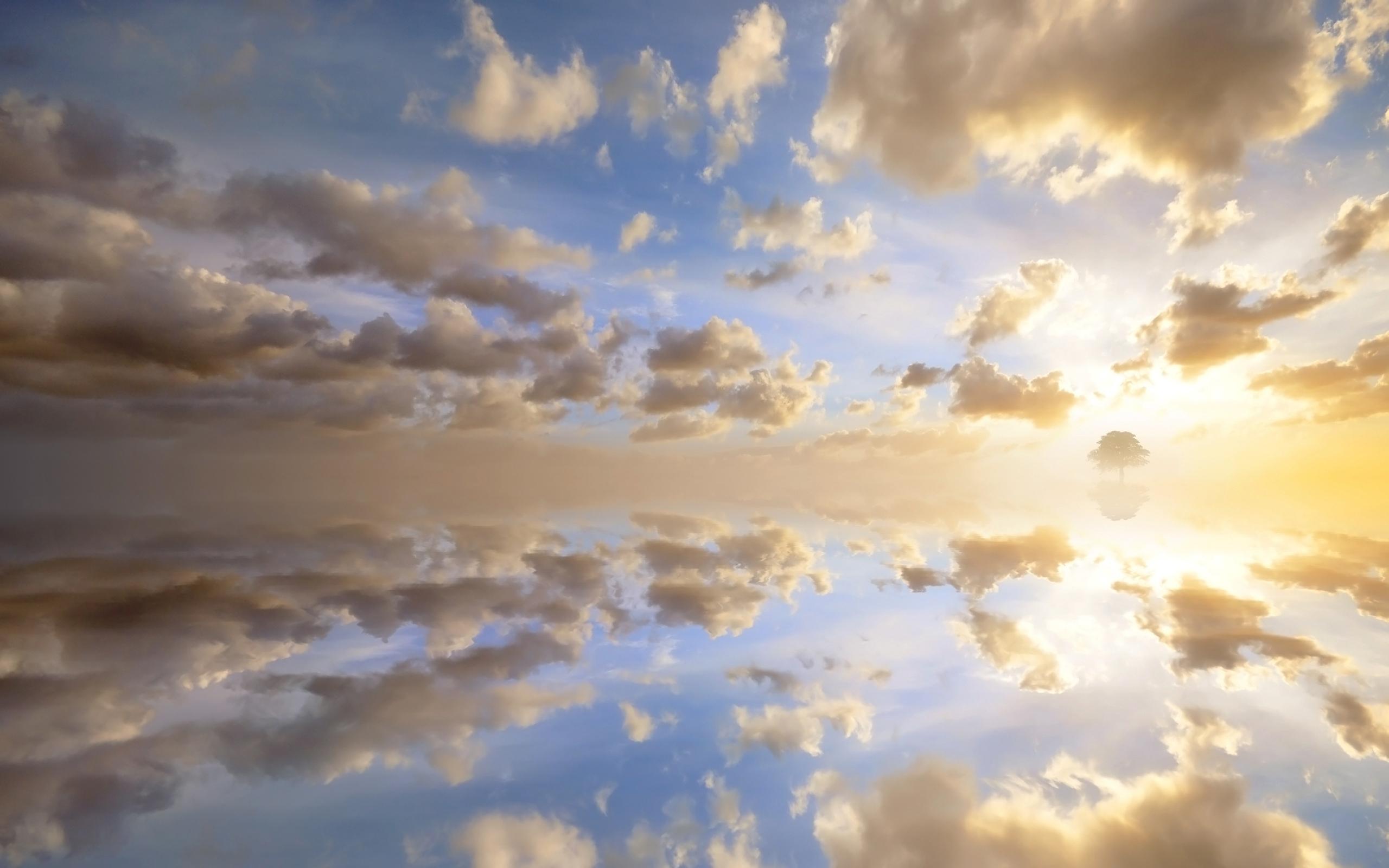 закат солнце облака  № 3851973 загрузить