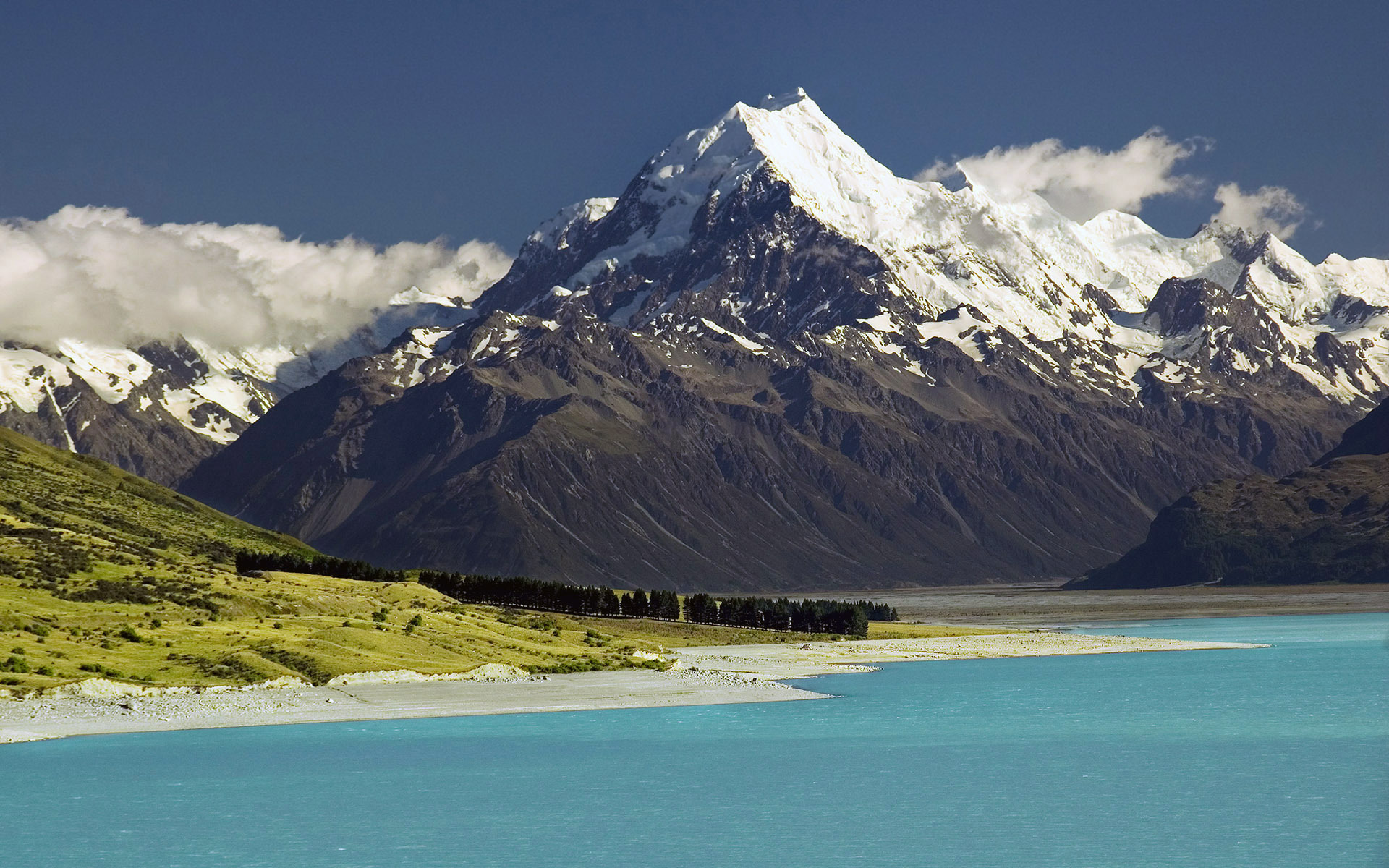 Sidelined_Landscape, Mt Cook, New Zealand скачать