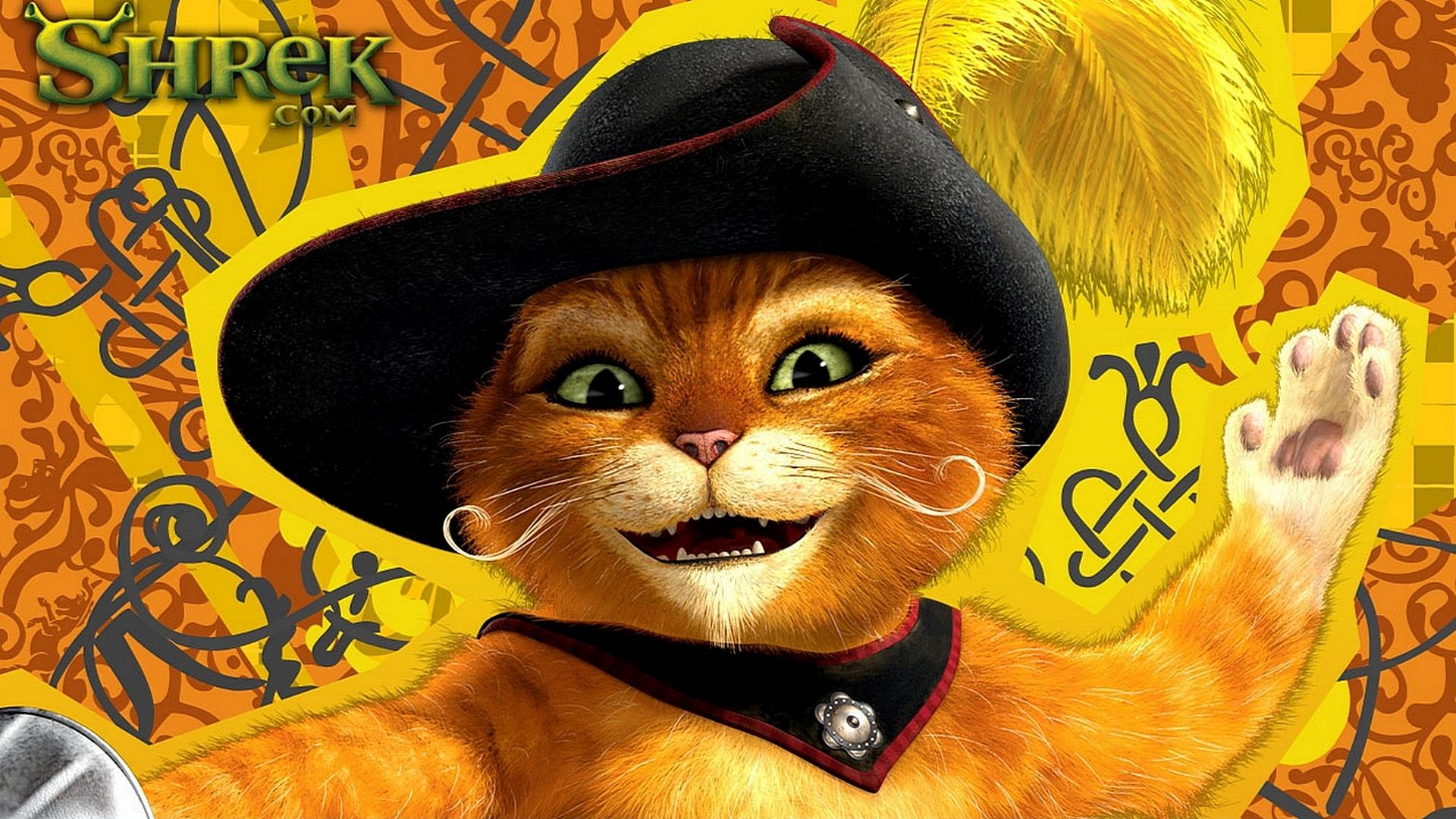 Кот в сапогах веселые картинки яна