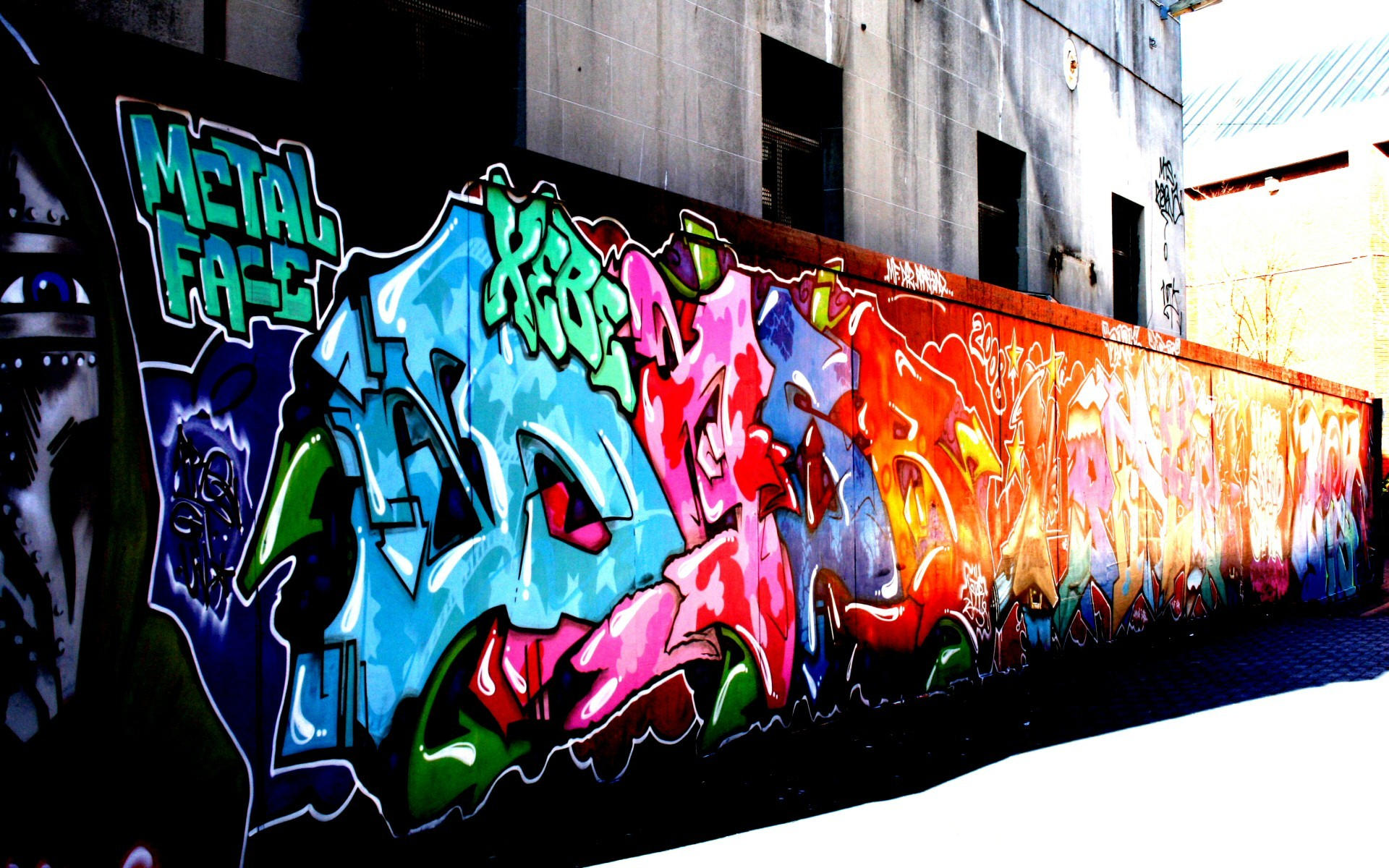 Graffiti wall wallpaper - Wall Graffiti Wallpapers
