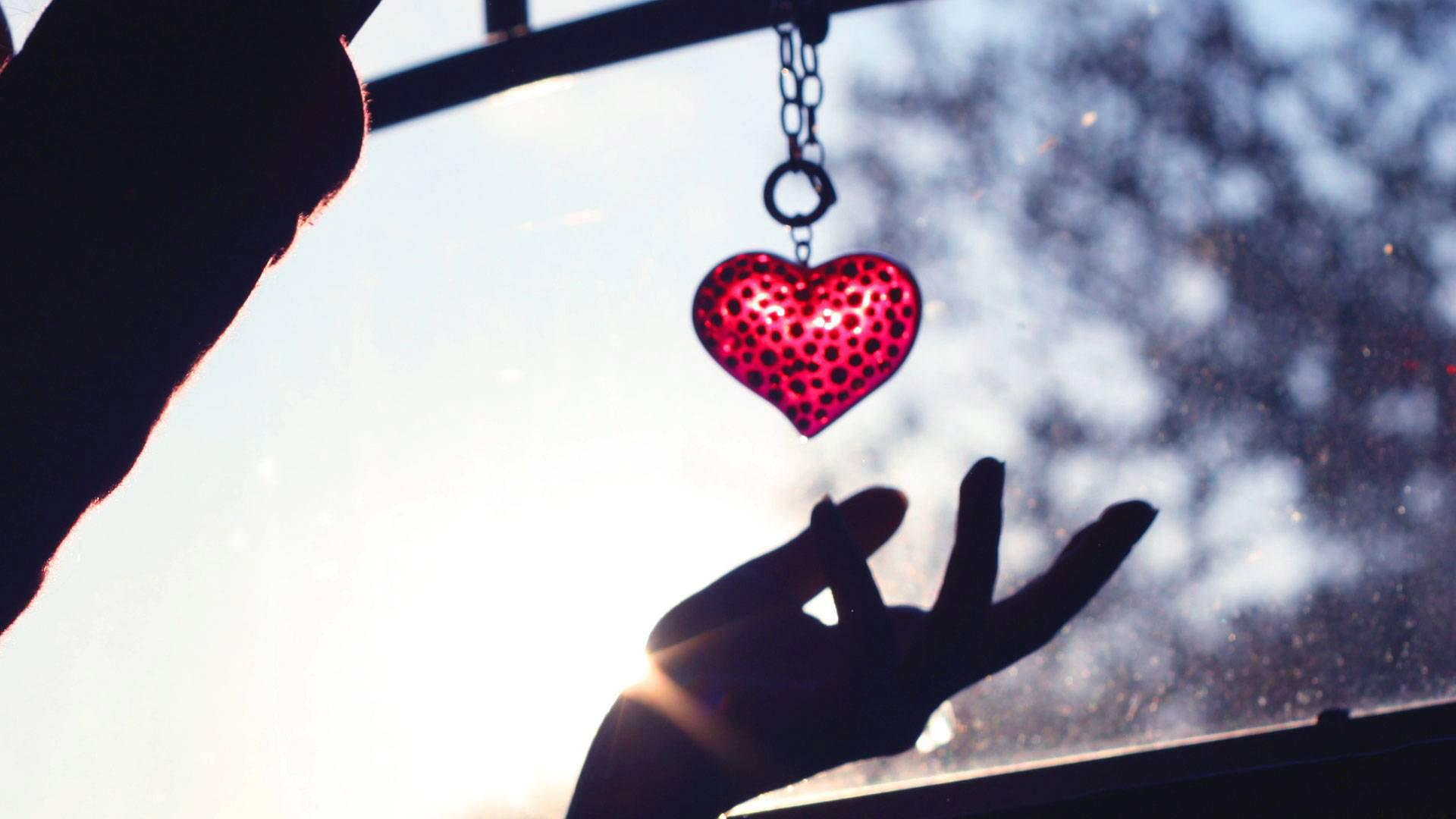 сердце брелок ткань подборки