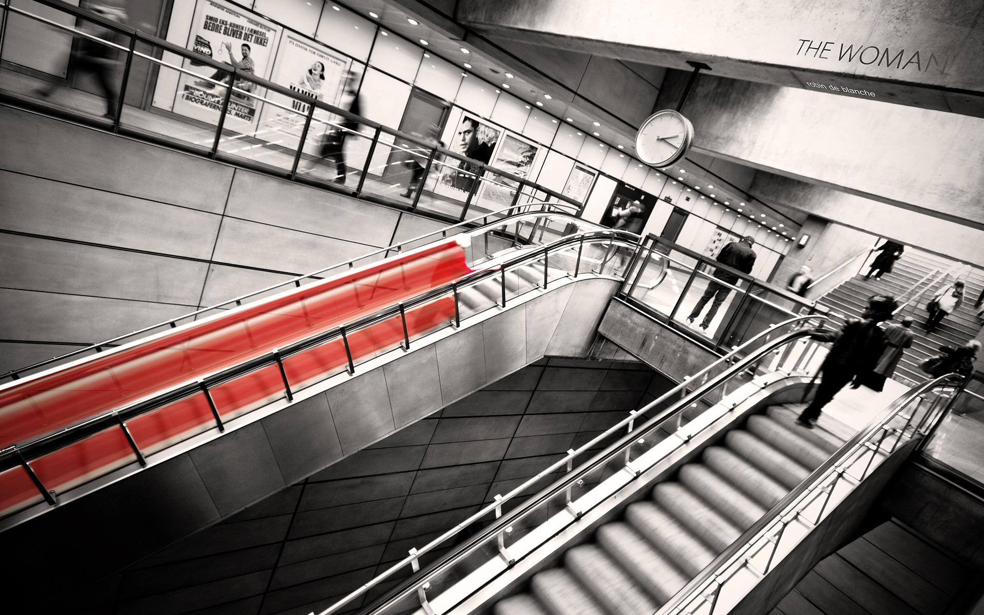 Эскалатор с подсветкой скачать