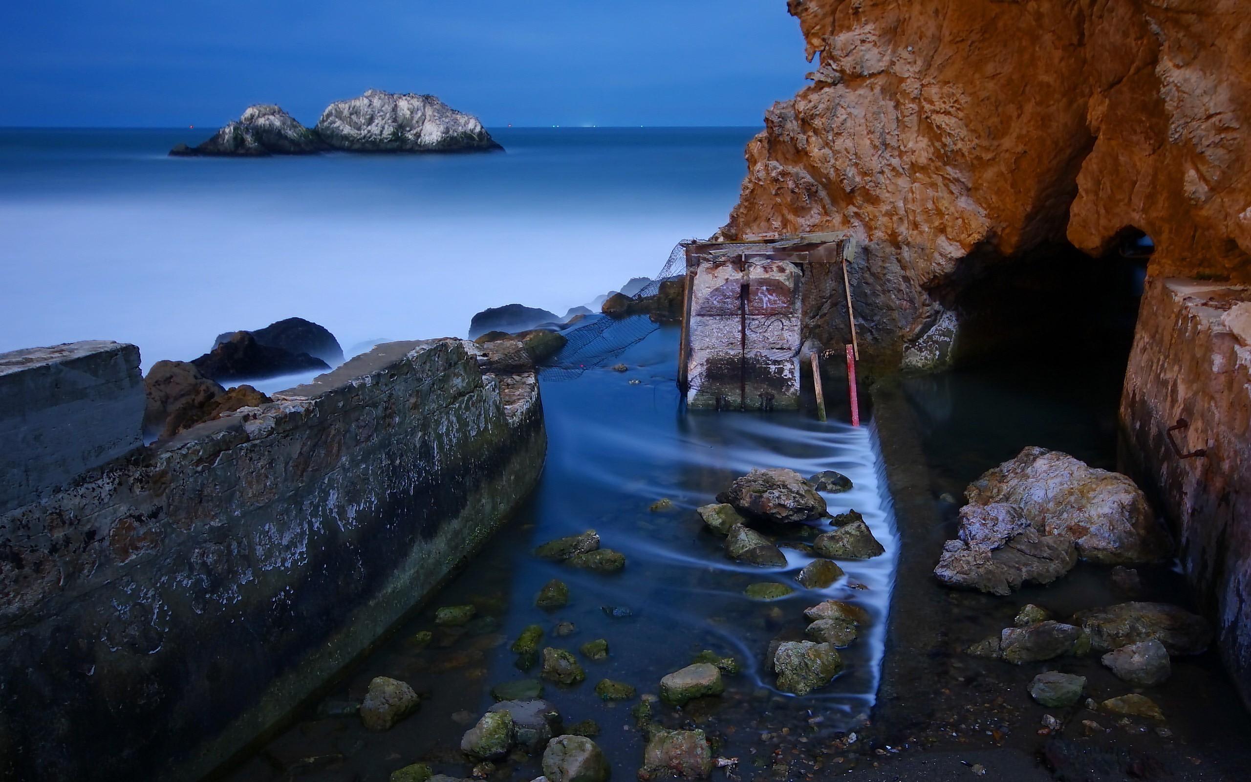 Камень море берег  № 1356402 загрузить