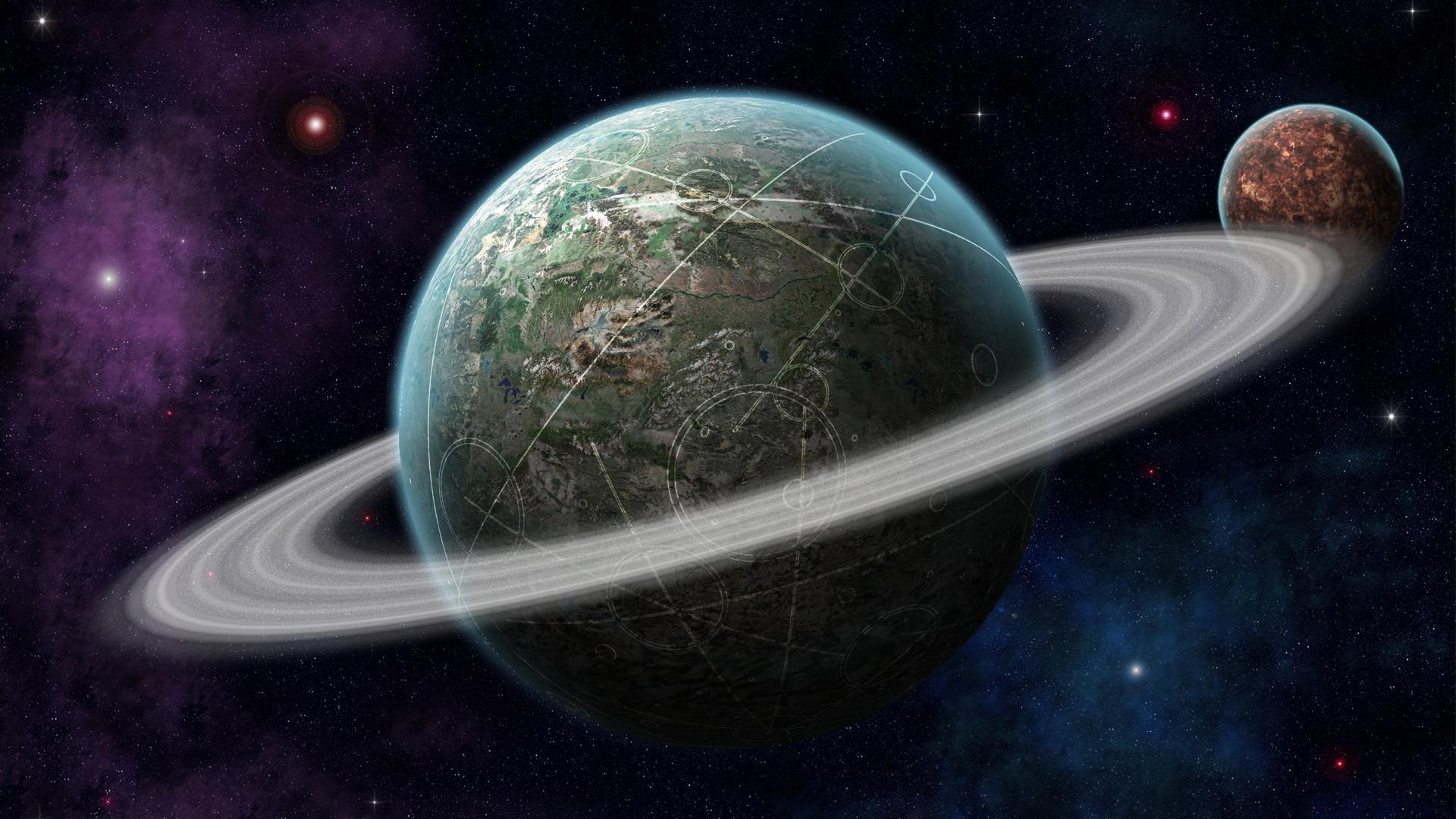 Обои планета космос орбита картинки на рабочий стол на тему Космос - скачать  № 1757061 бесплатно