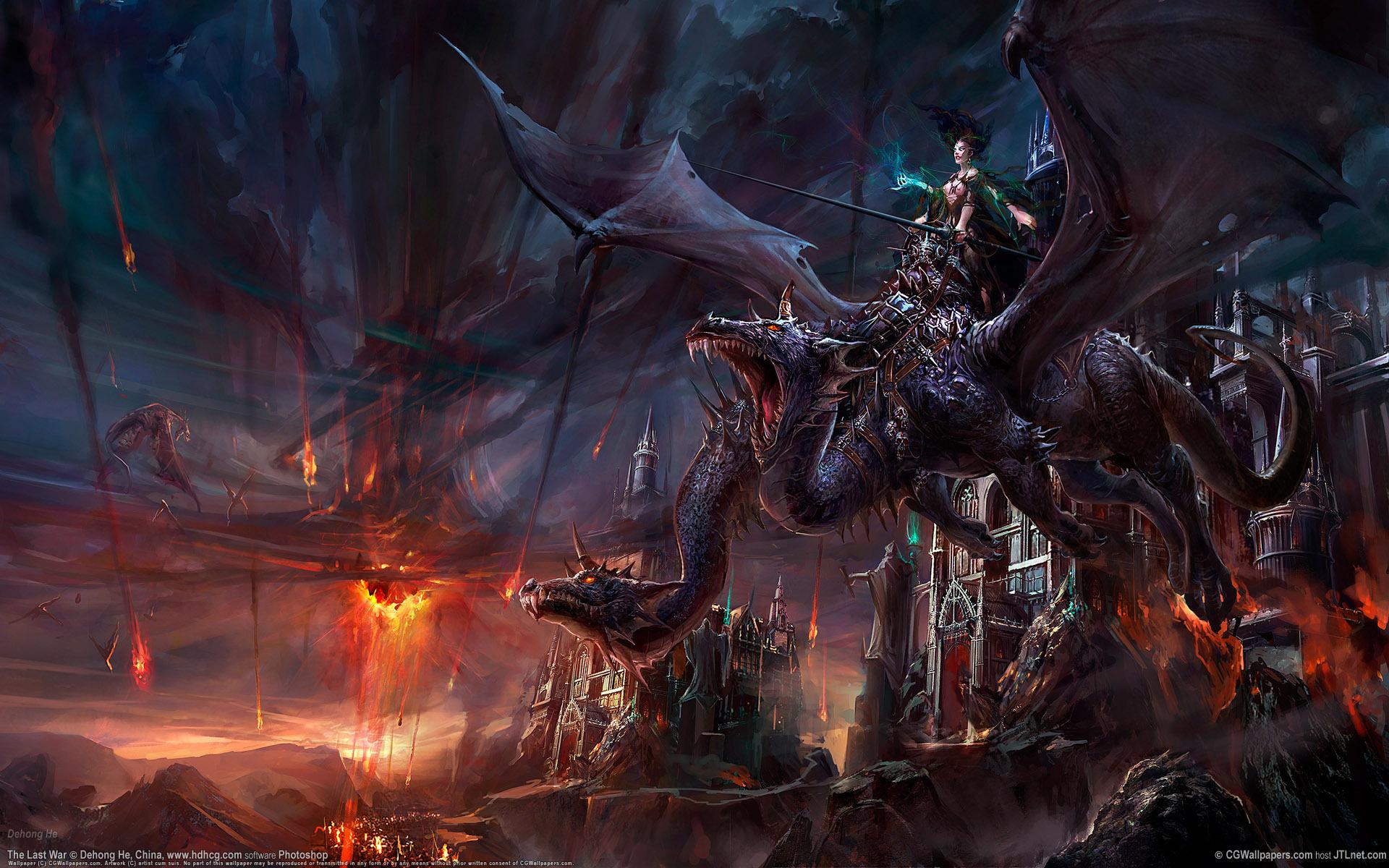 Драконья повозка без смс