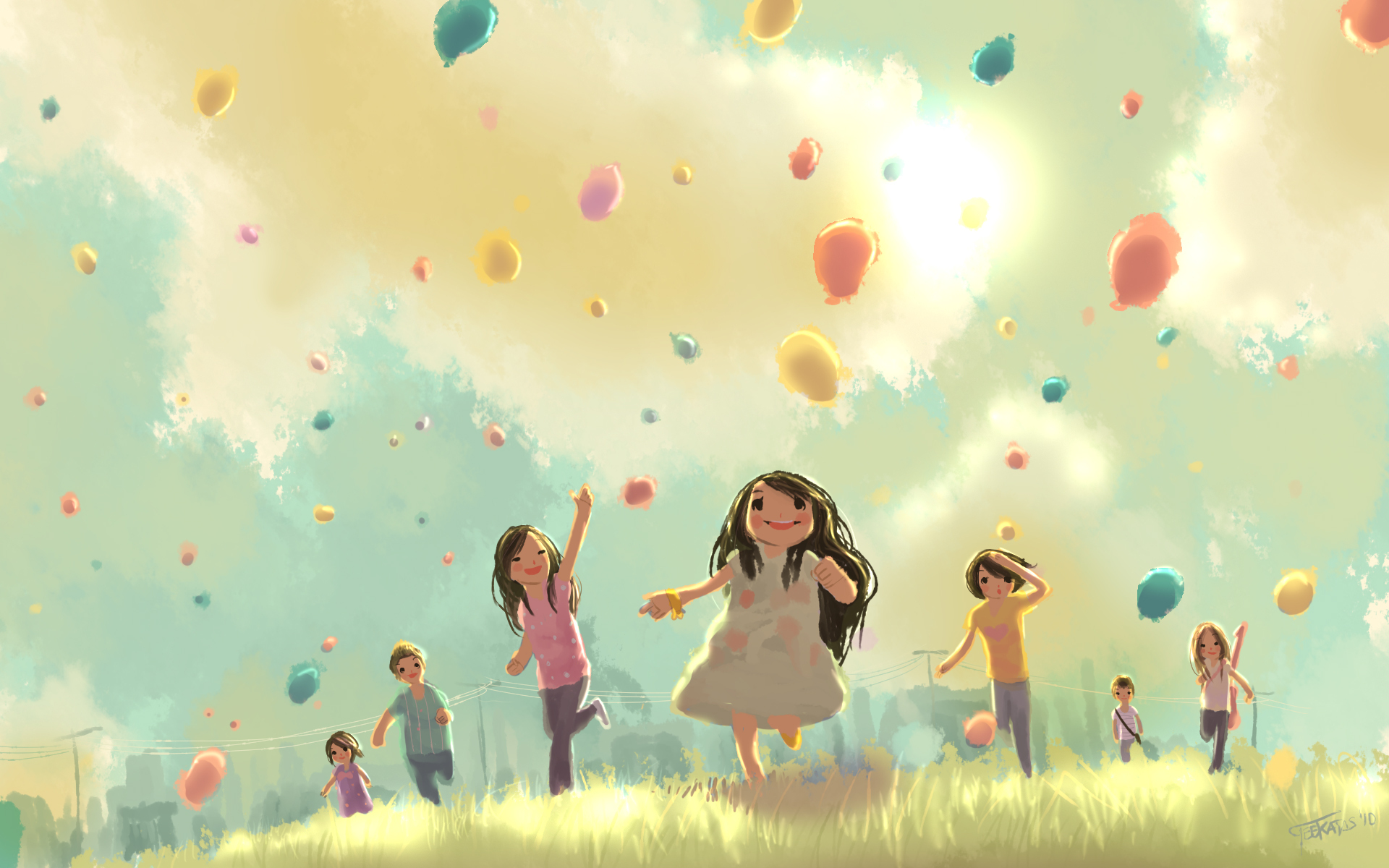 Поздравления марта, счастливое детство открытка