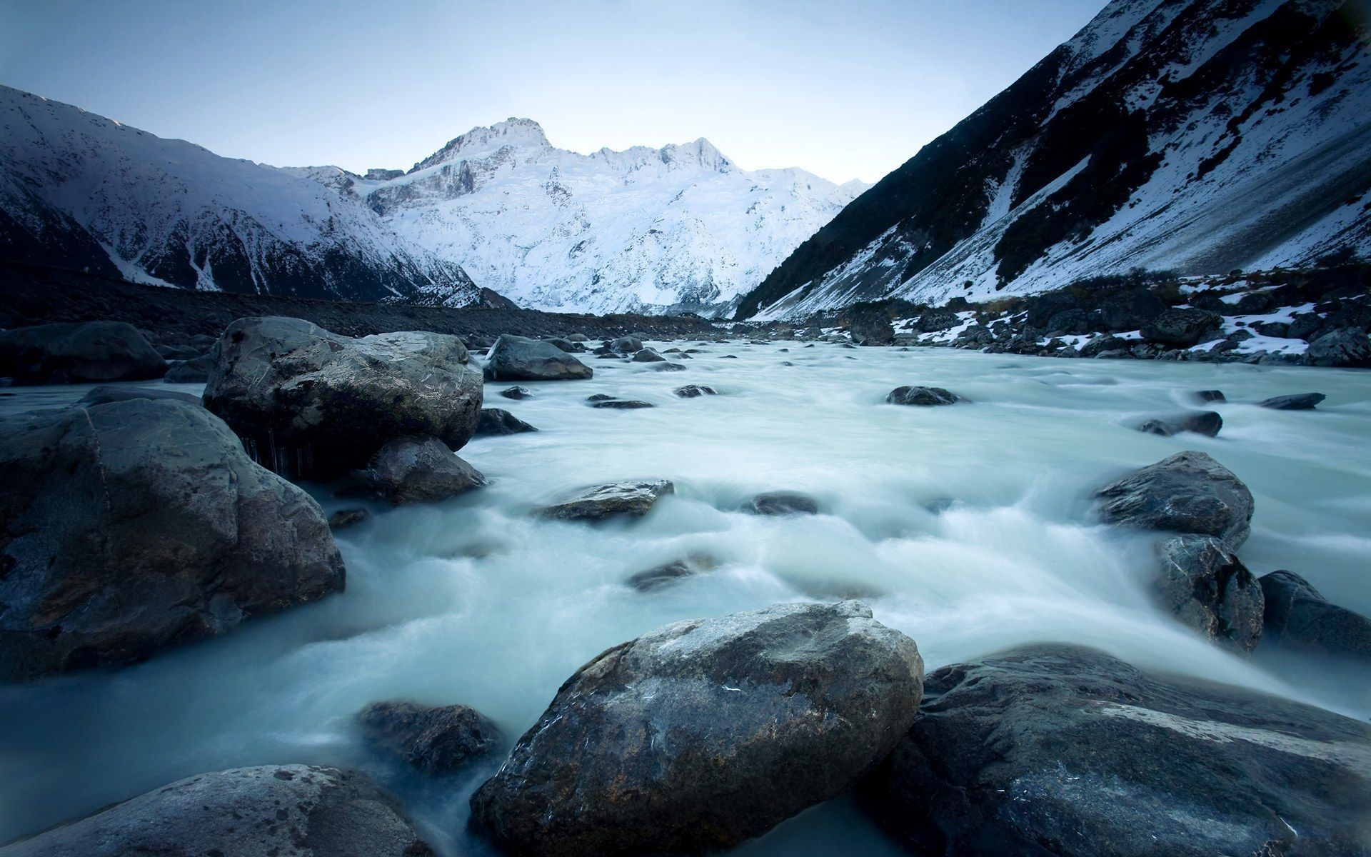 ледник природа облака горы снег лед загрузить