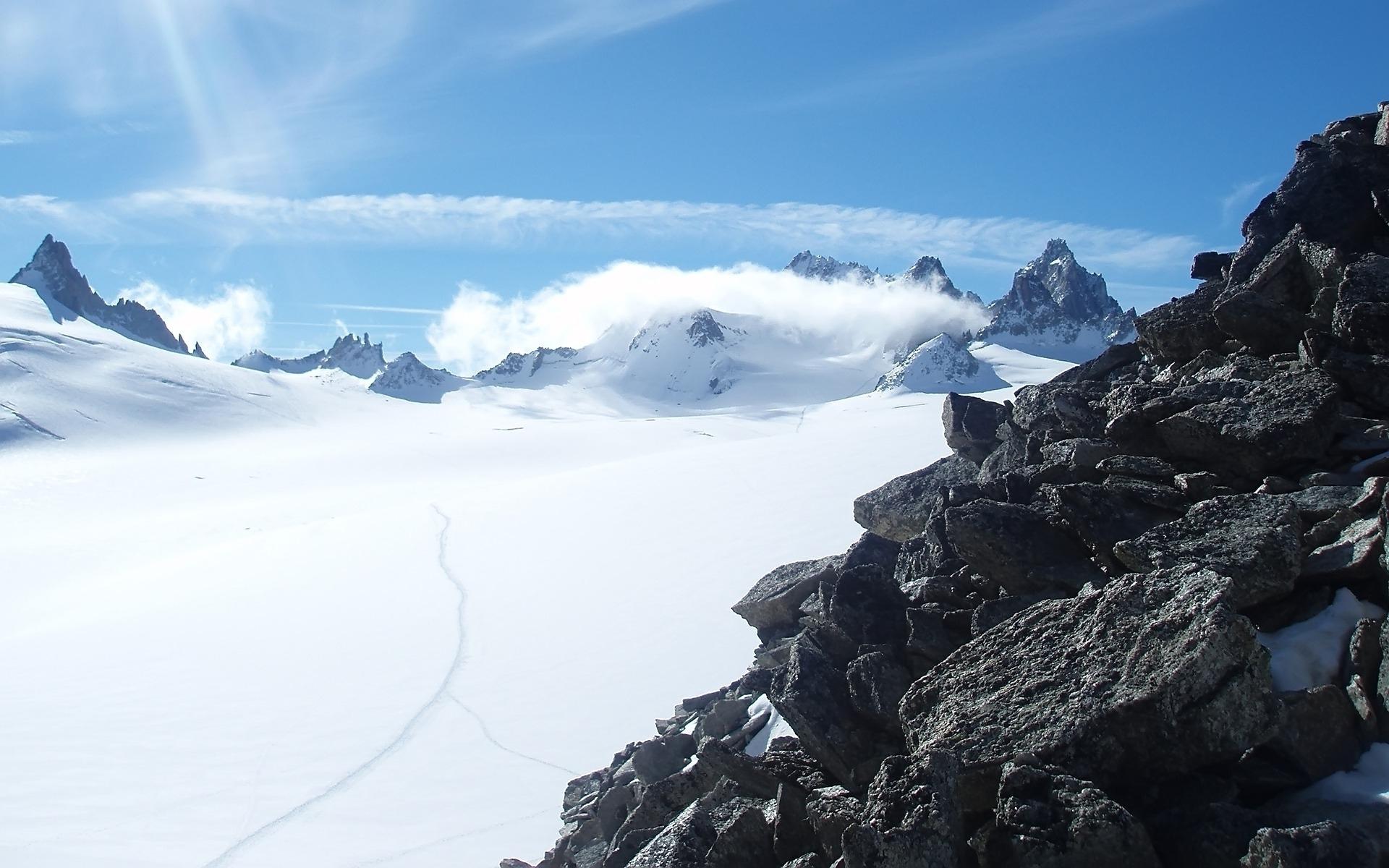 горы высота снег  № 385093 бесплатно