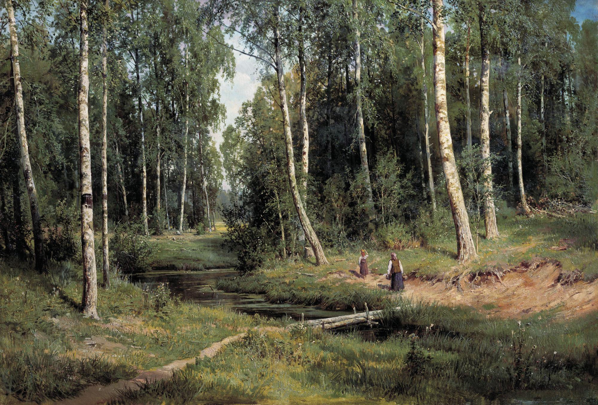 Басни, картинки шишкин лес