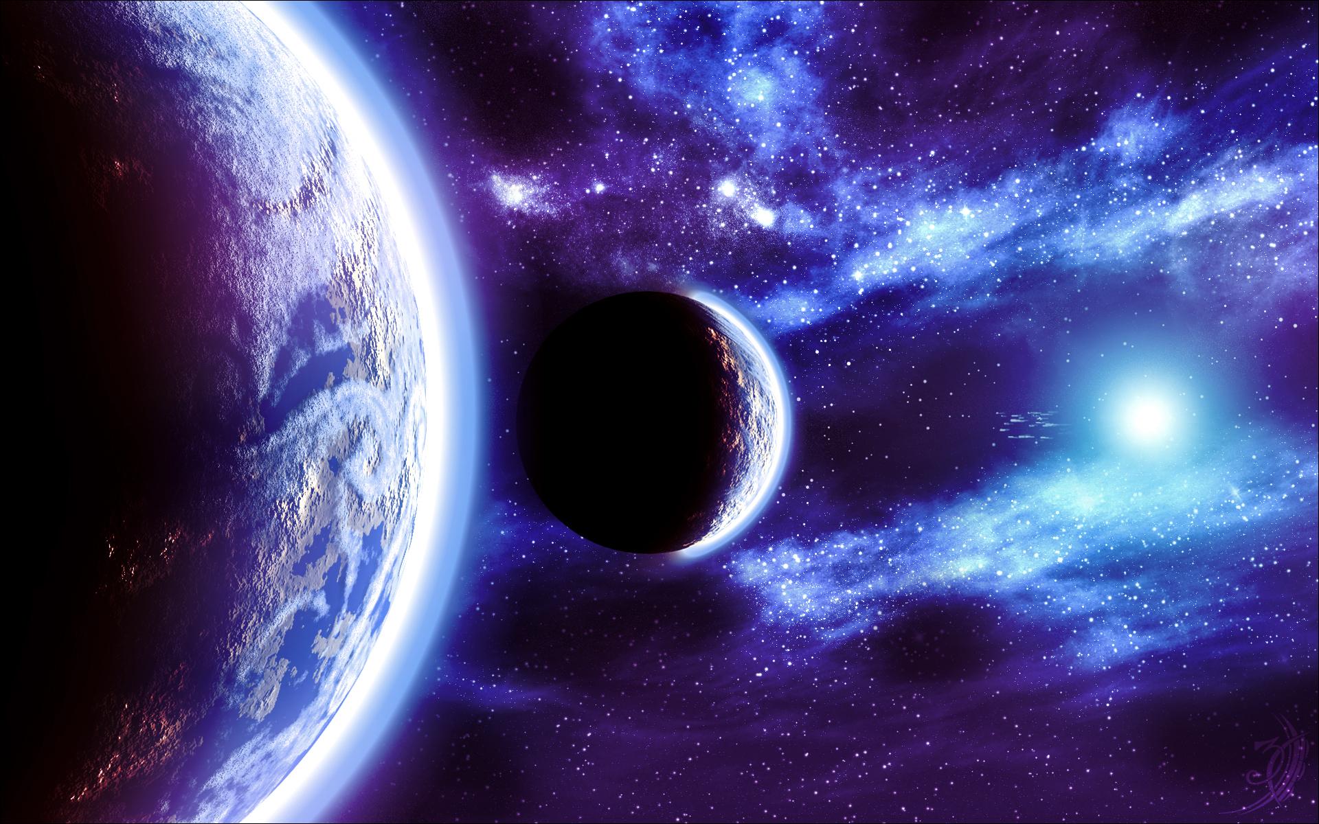 Обои планета космос орбита картинки на рабочий стол на тему Космос - скачать  № 1757085 загрузить