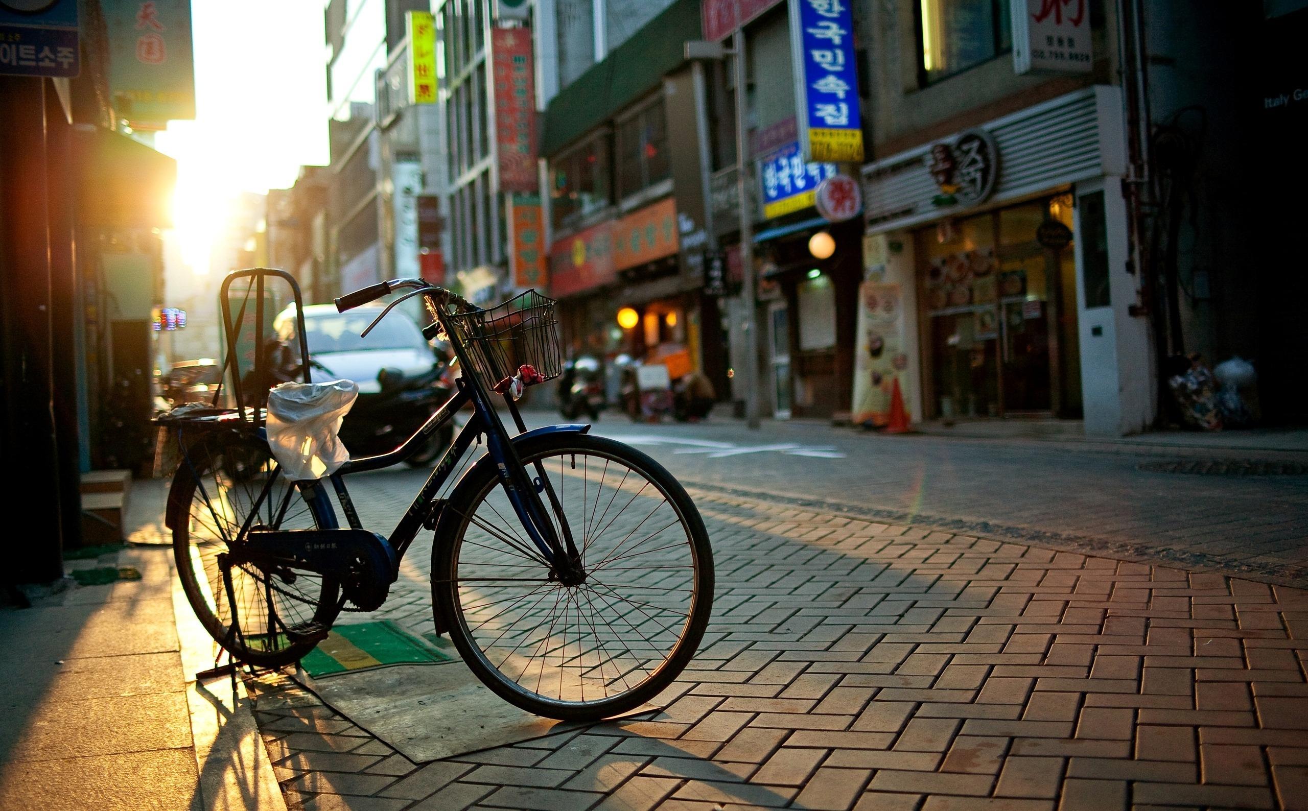 Велосипед в центре города бесплатно