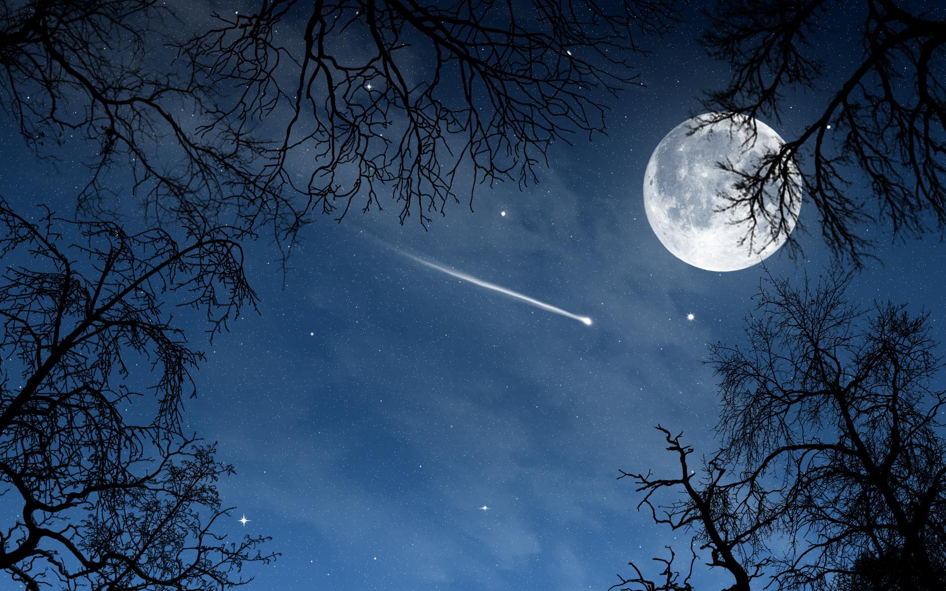 Звезда луна картинки