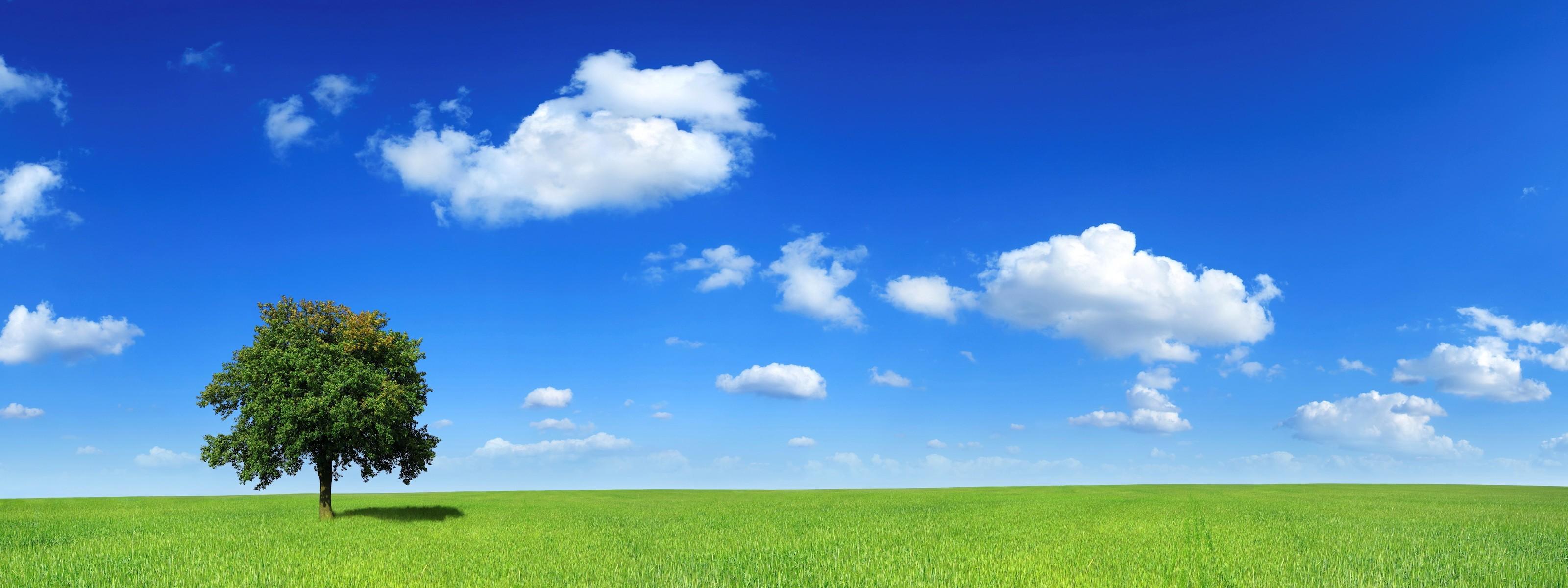 природа поле холм облака небо трава nature field hill clouds the sky grass скачать