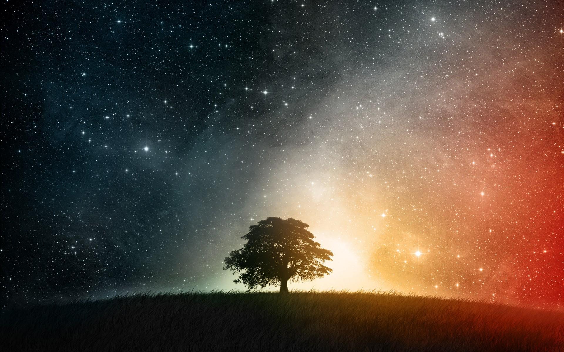 вишневая bmw под звездным небом  № 2384116 загрузить