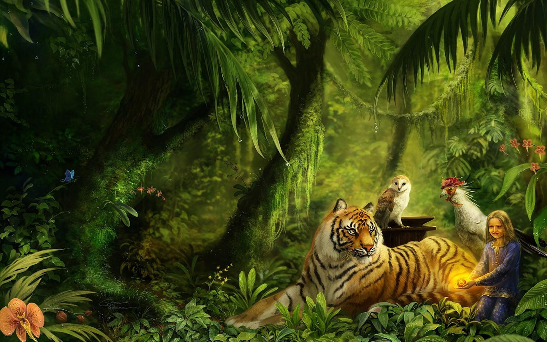 приглашаю картинки фэнтези животные и природа значение восточном
