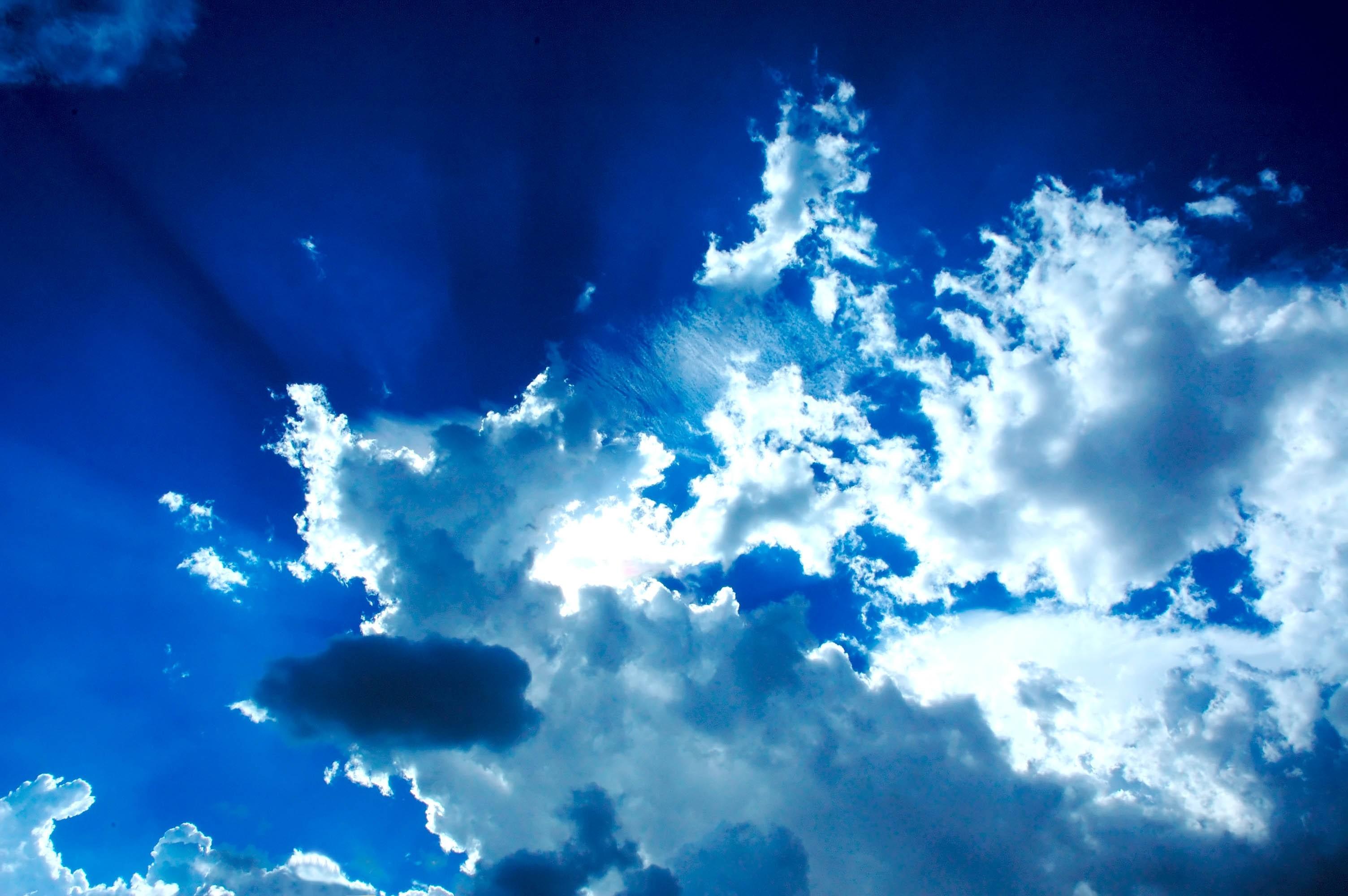 Облака в голубом небе  № 1665946 без смс