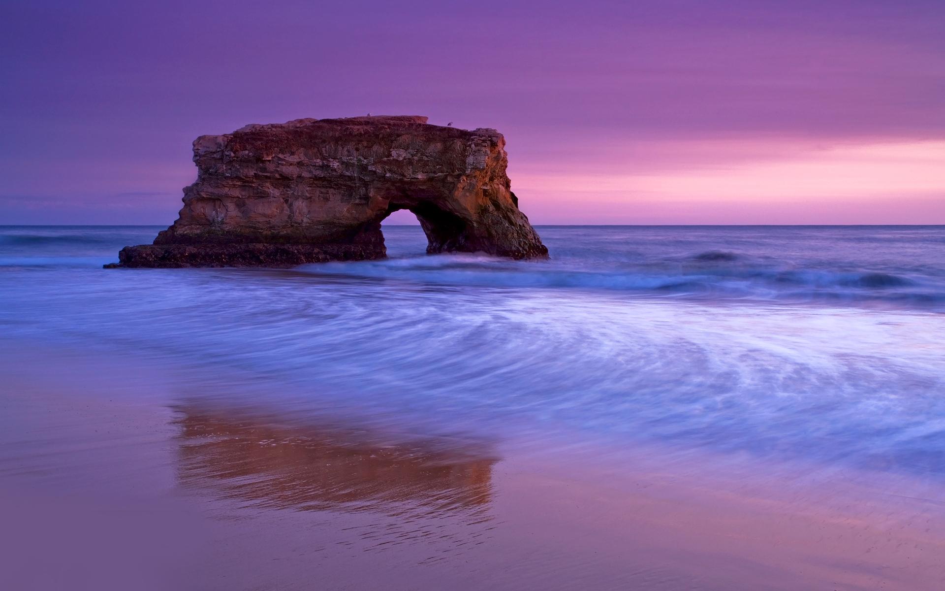 море океан камни скалы закат sea the ocean stones rock sunset  № 2530626 без смс