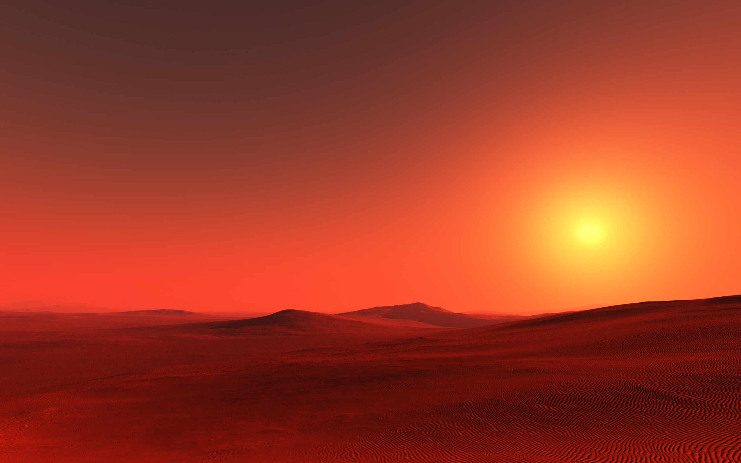 mars landscape background - HD 1920×1200