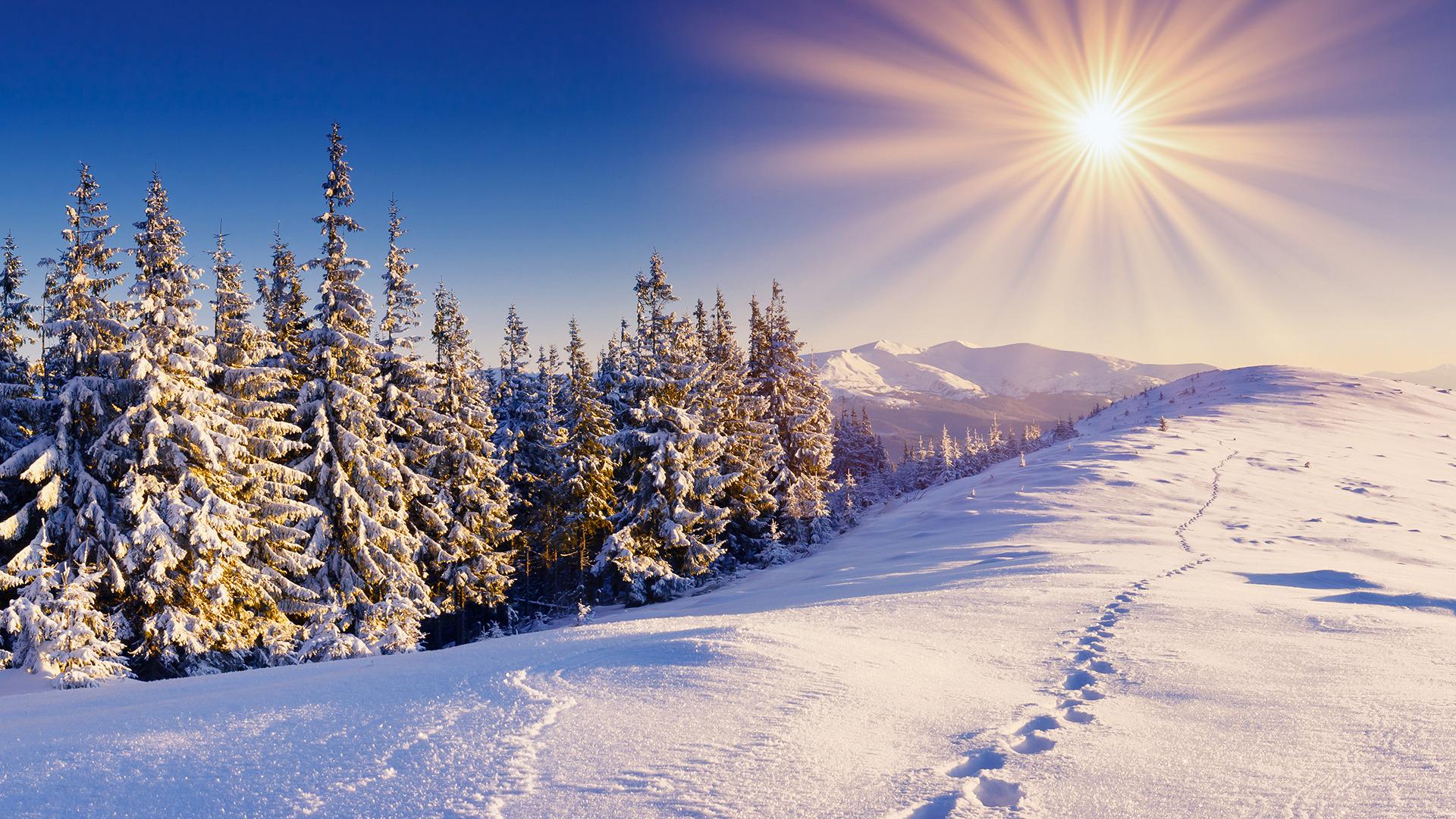Открытка когда будет снег