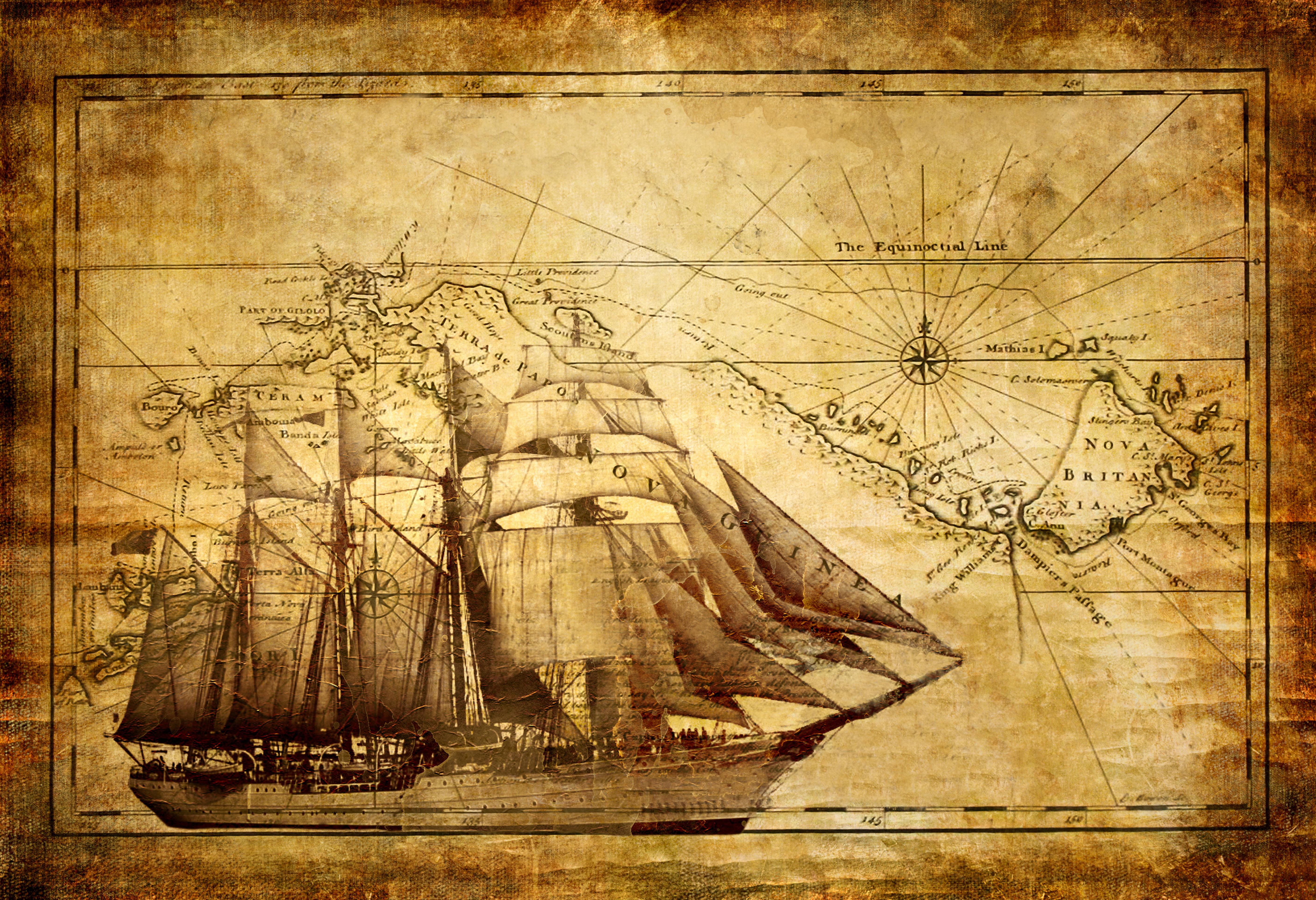 старинные корабли открытки джентльменов бабушек