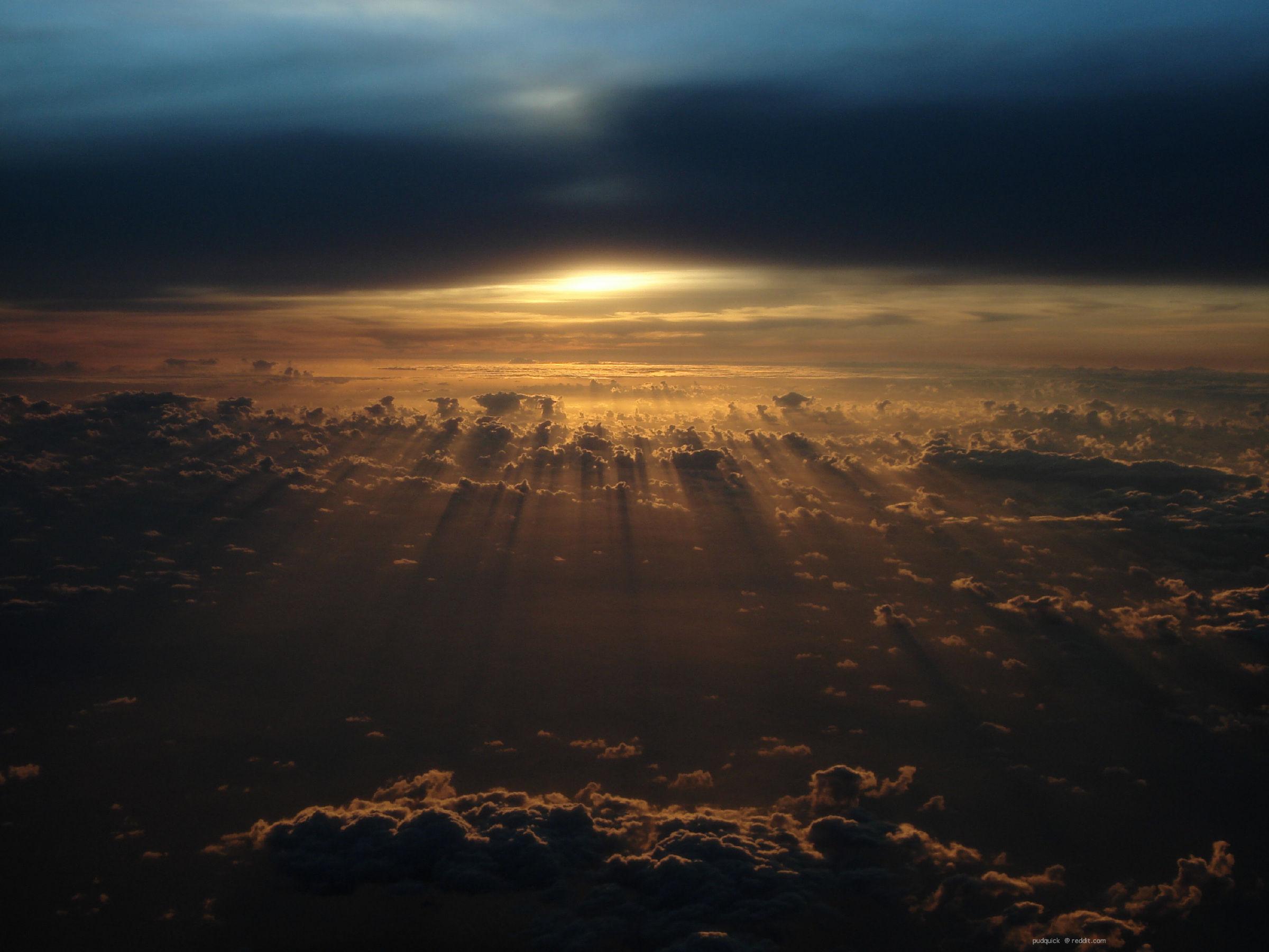 закат солнце облака  № 3852001 загрузить