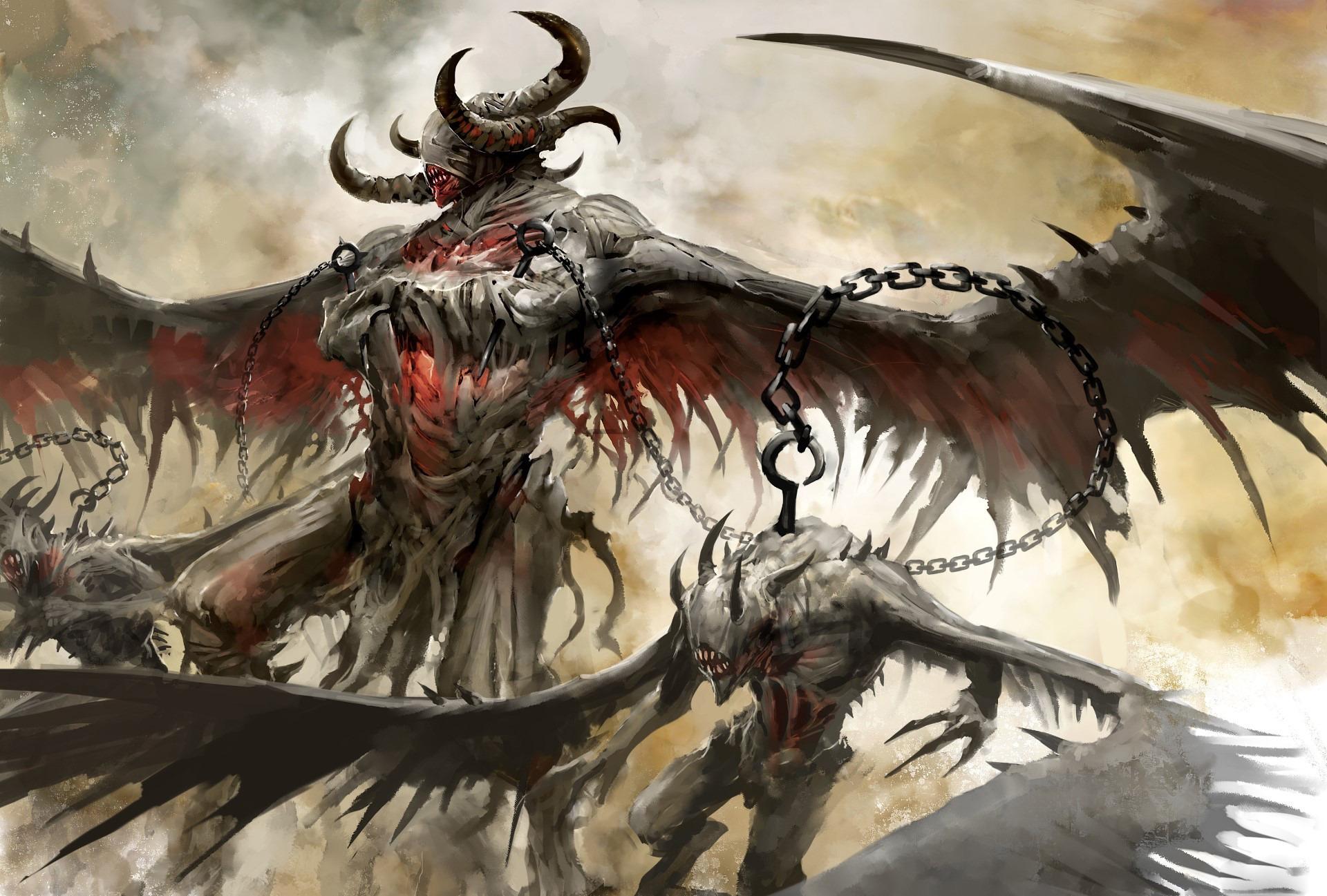 Крутые картинки про демонов, днем рождения