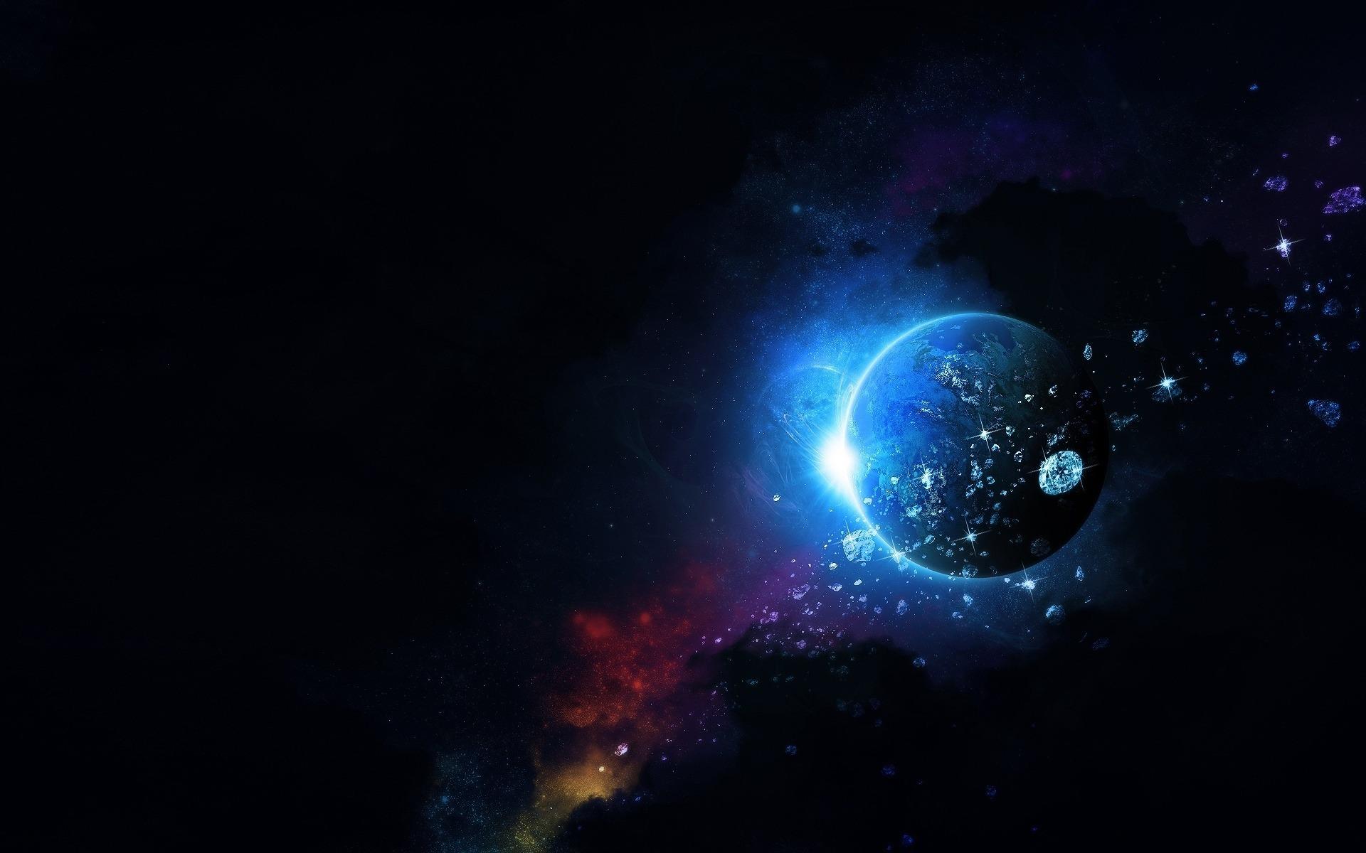 Обои космос открытый и планета обои