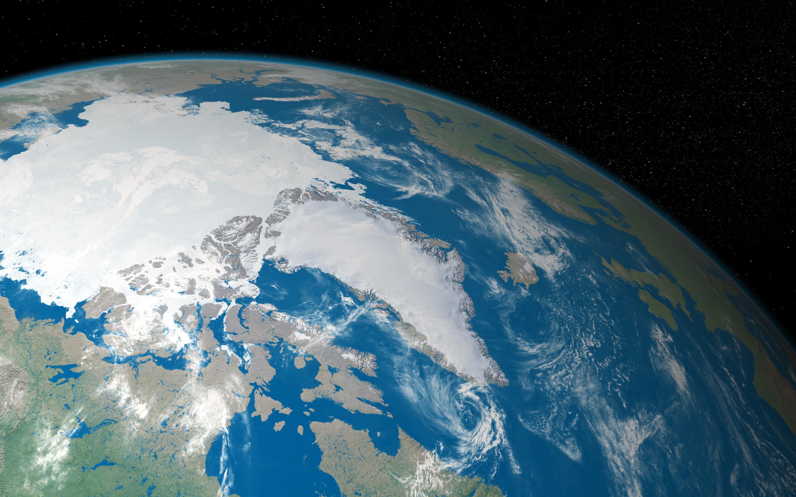Фото земного шара из космоса высокого разрешения