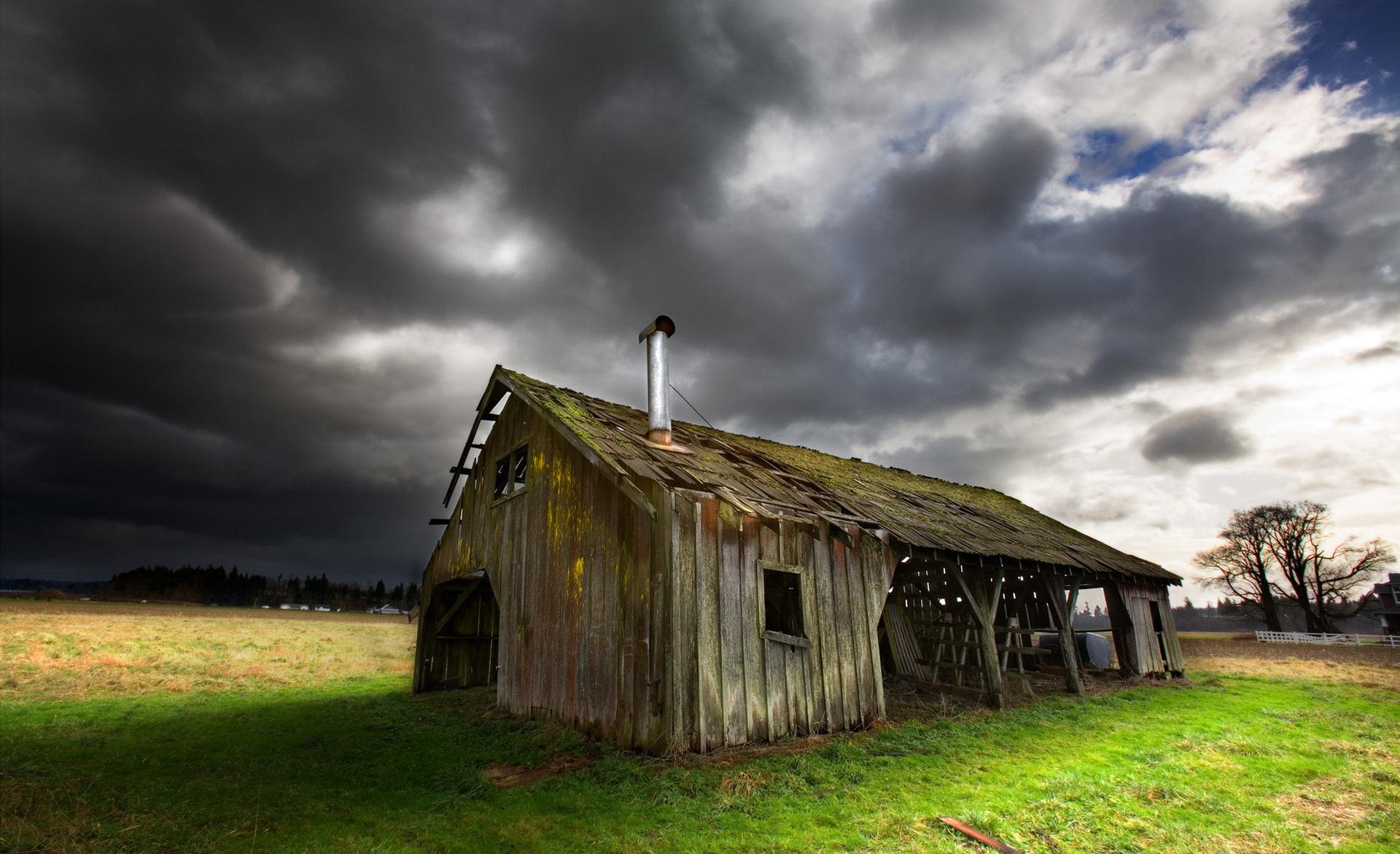 горы сарай осень mountains the barn autumn  № 387042 без смс