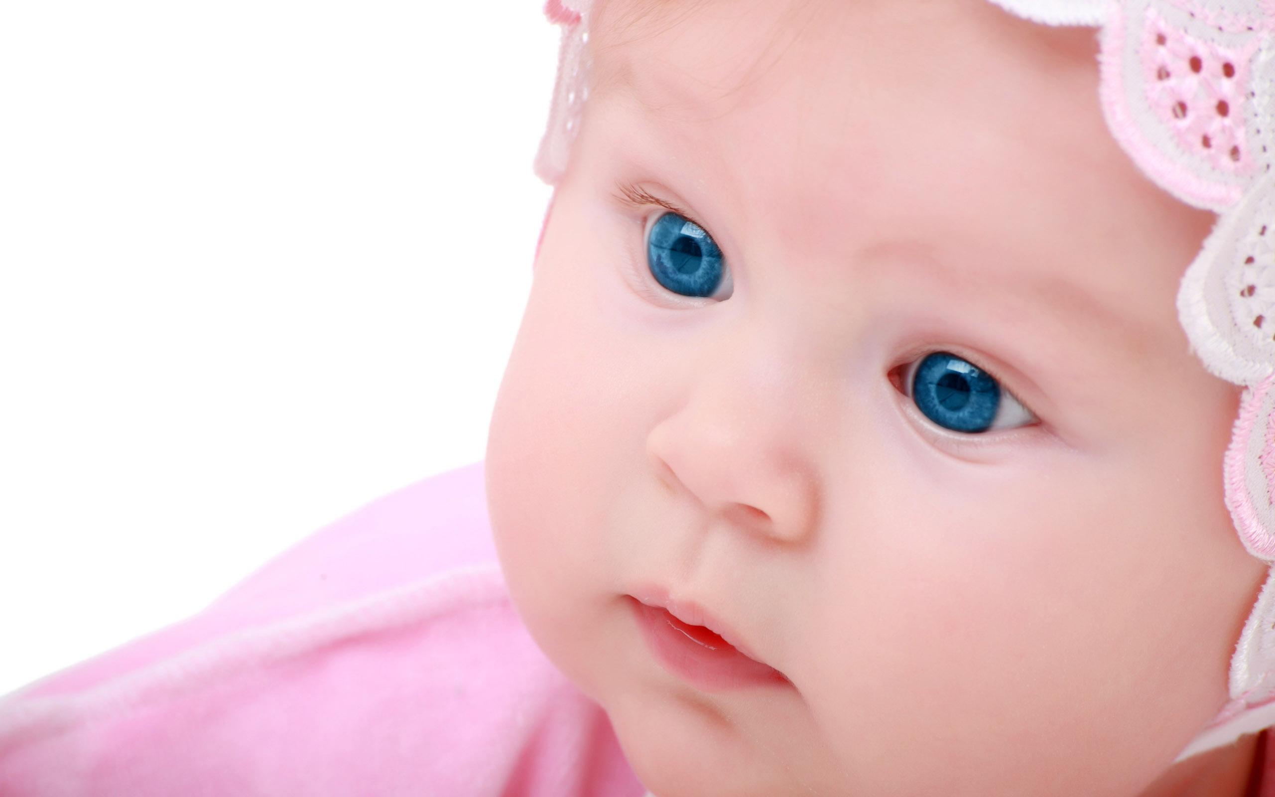 baby pink eye - HD2560×1600