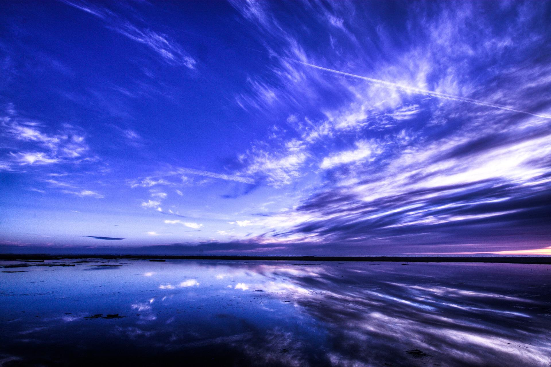 закат вода небо без смс