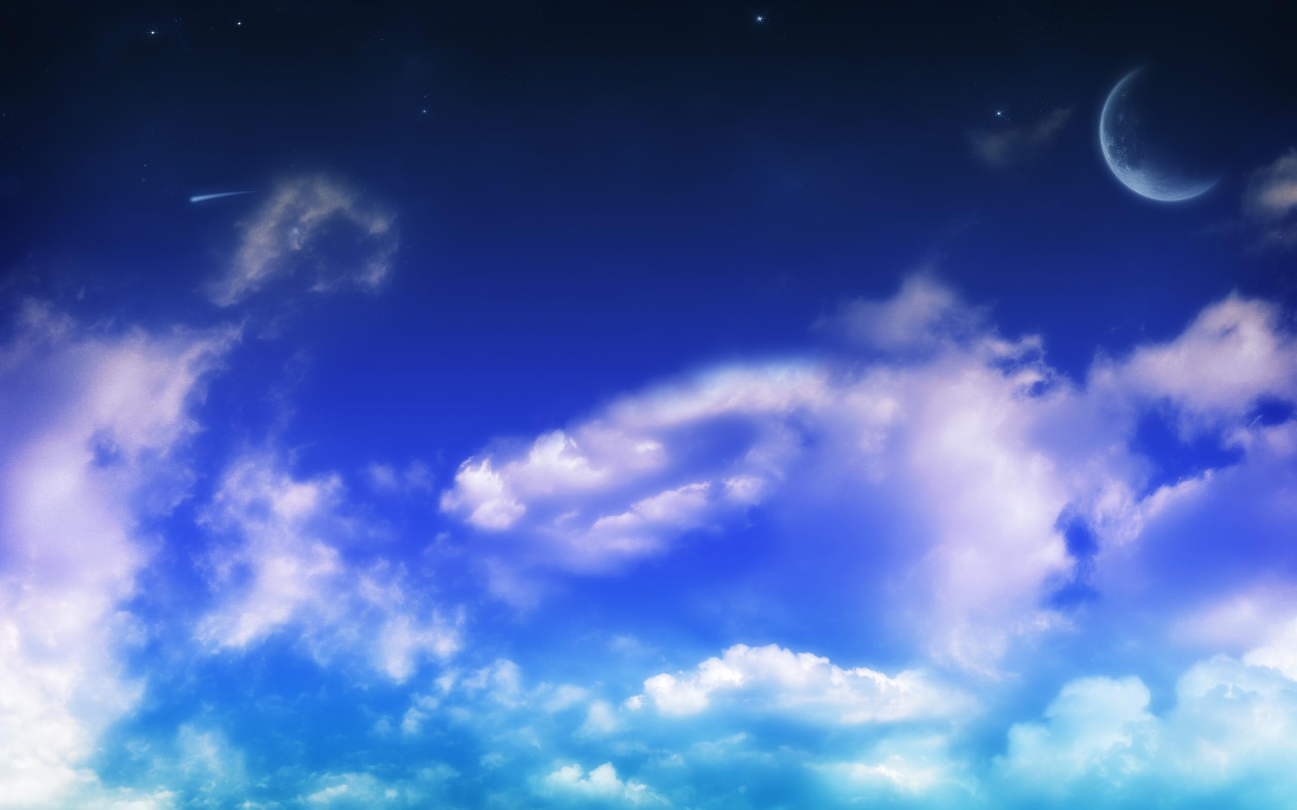 Облака в голубом небе  № 1666026 загрузить