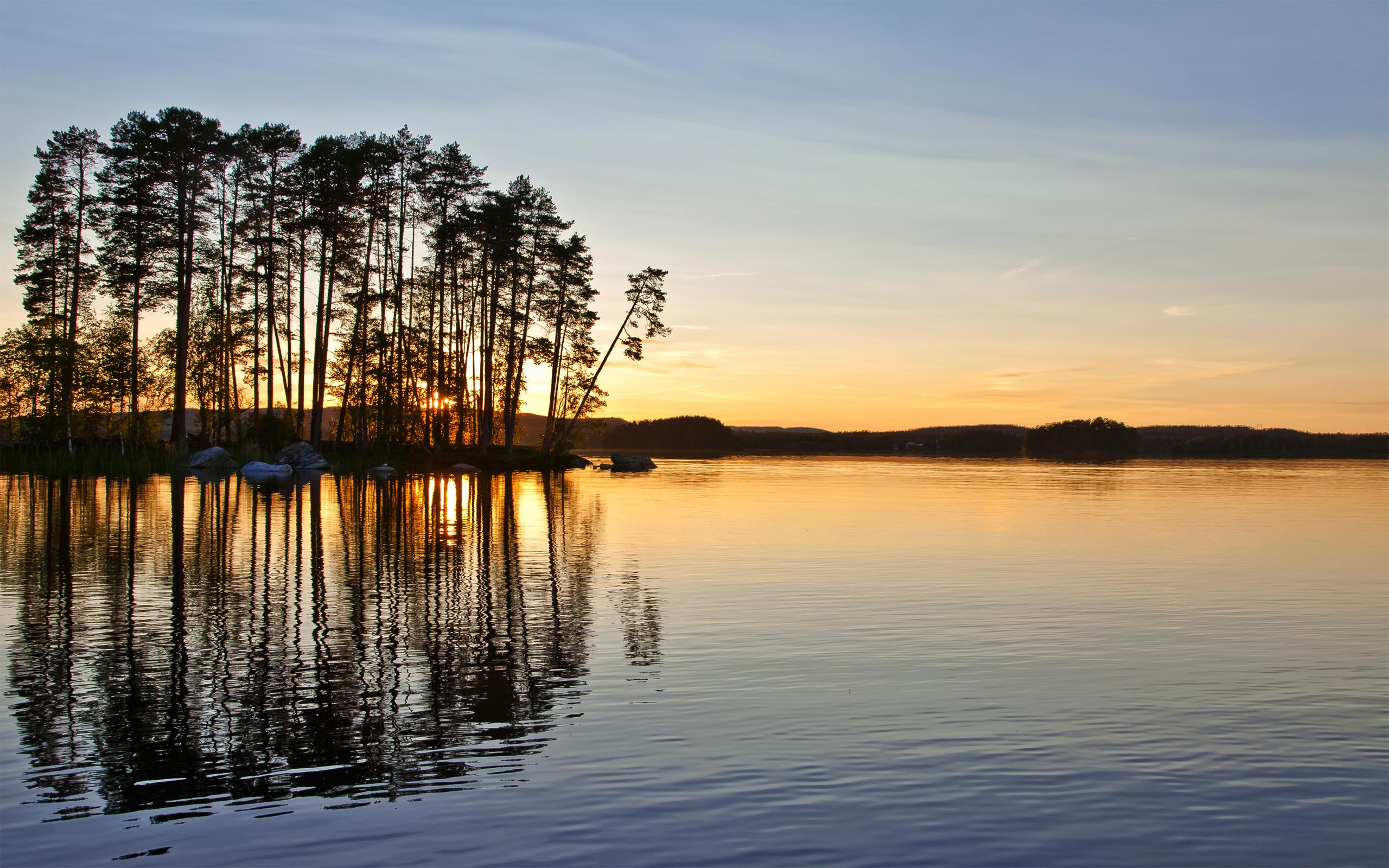 природа река Швеция страны бесплатно