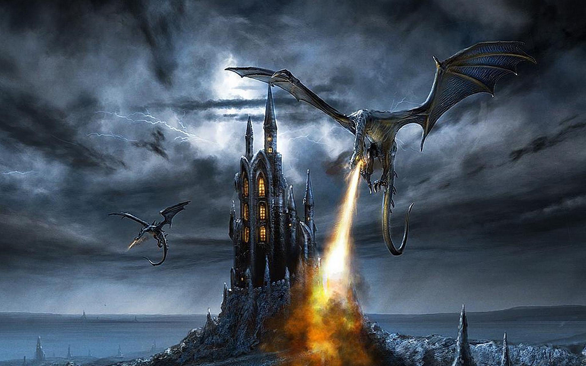 картинка дракон над замком несколько правил, которые