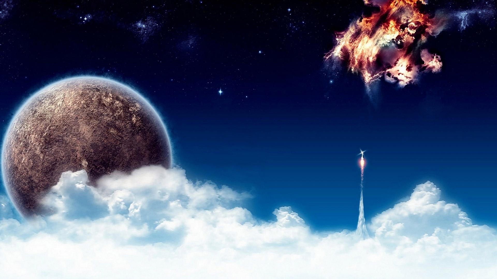 Обои Космические прасторы картинки на рабочий стол на тему Космос — скачать загрузить
