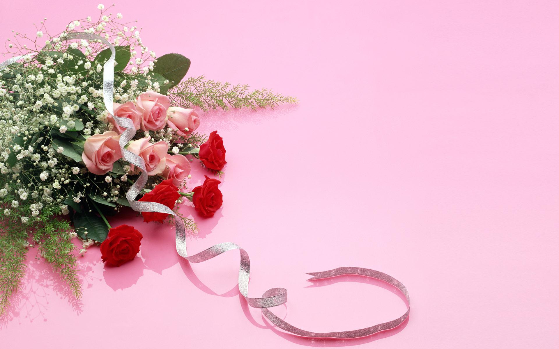 Картинки цветов с надписями поздравления с днём рождения