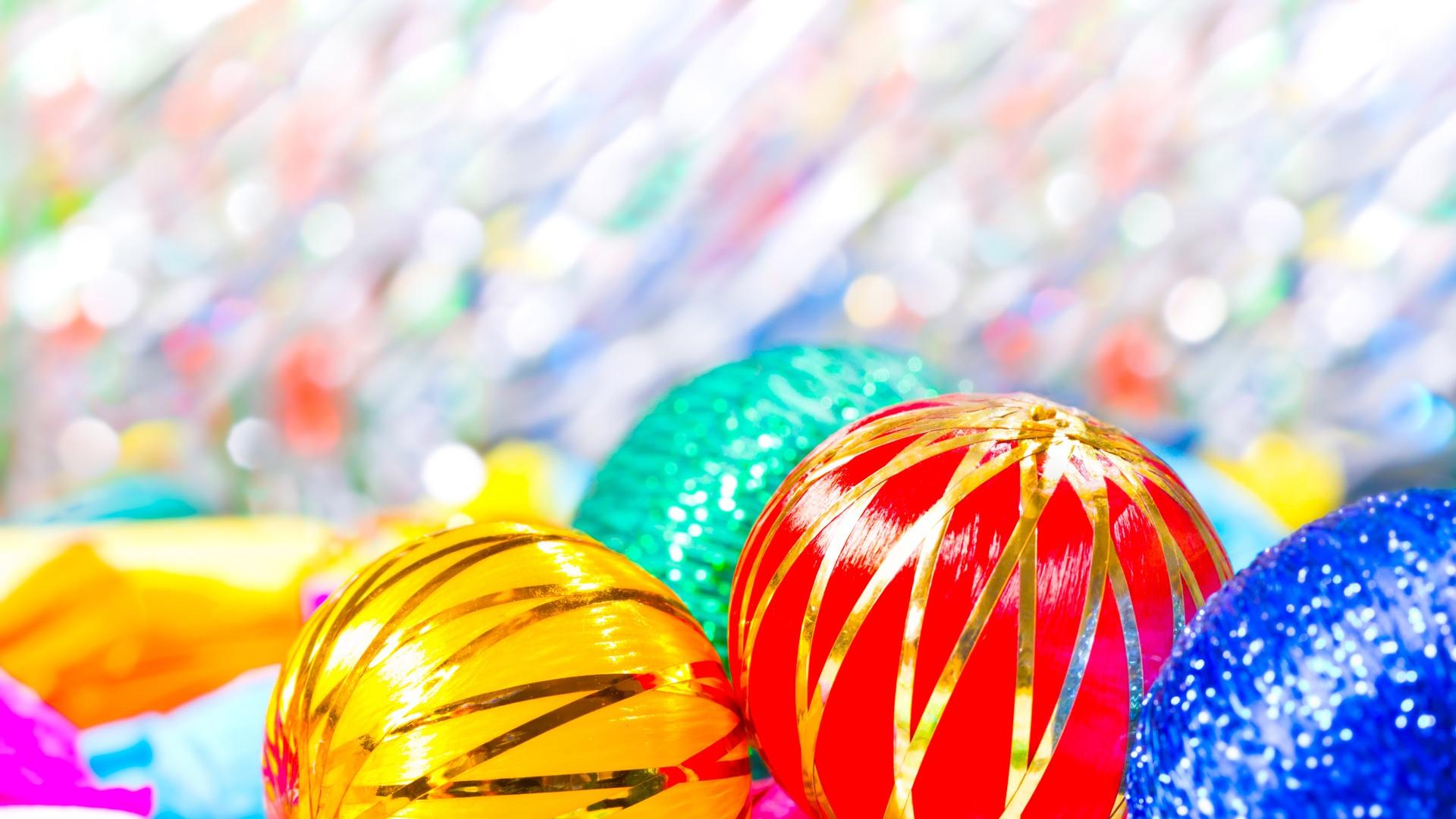 Огни цветные шарики  № 3561068 без смс