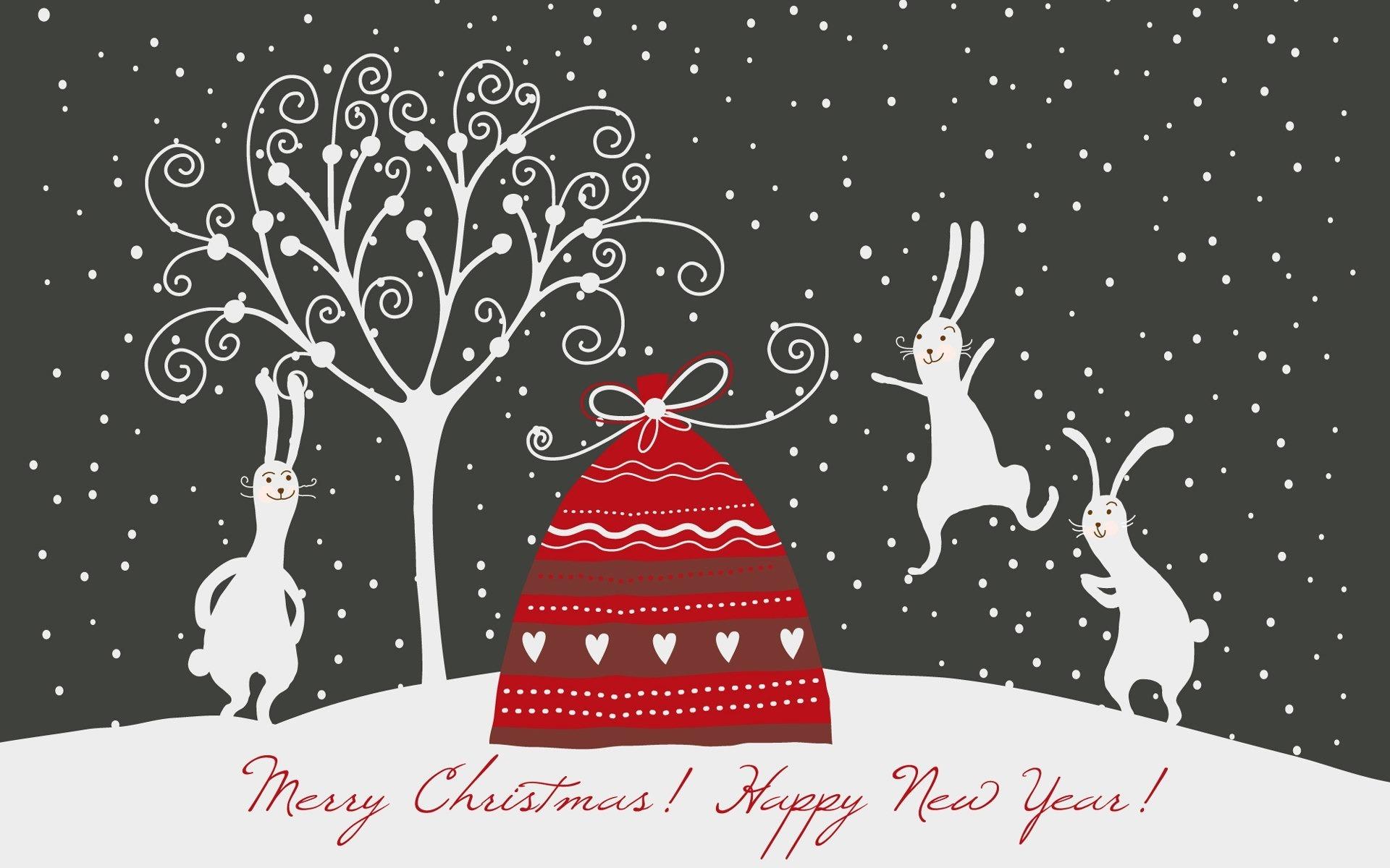 дизайнеры поздравление с рождеством заяц быстро ночь
