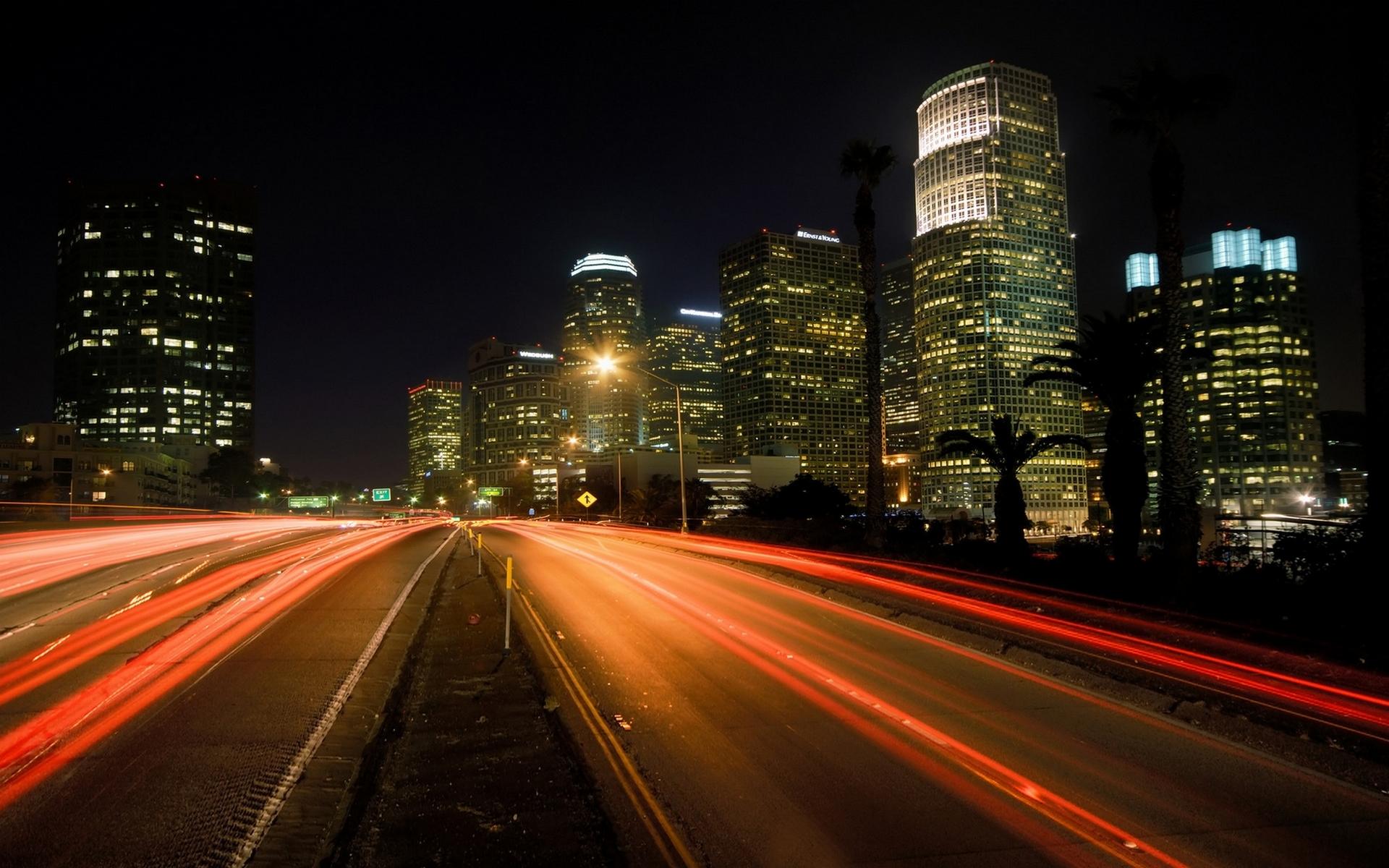 дорога развилка огни город вечер без смс