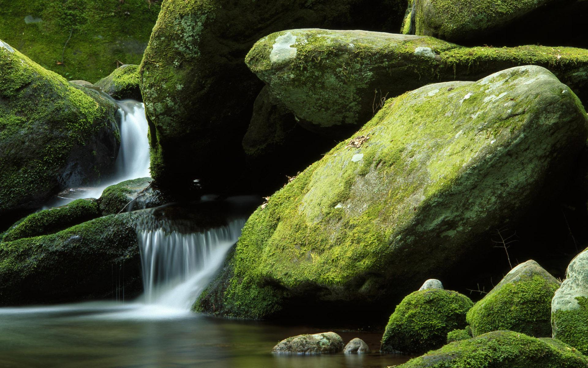 водопад камни скала загрузить