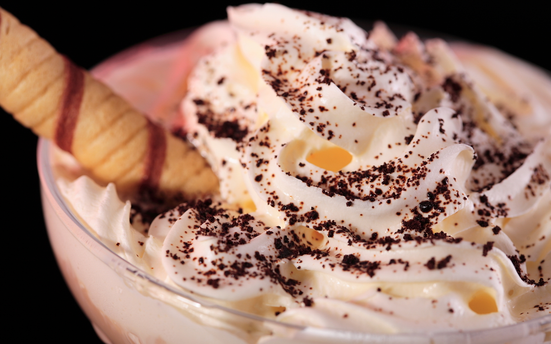 кремово-шоколадное мороженое  № 2279283 без смс