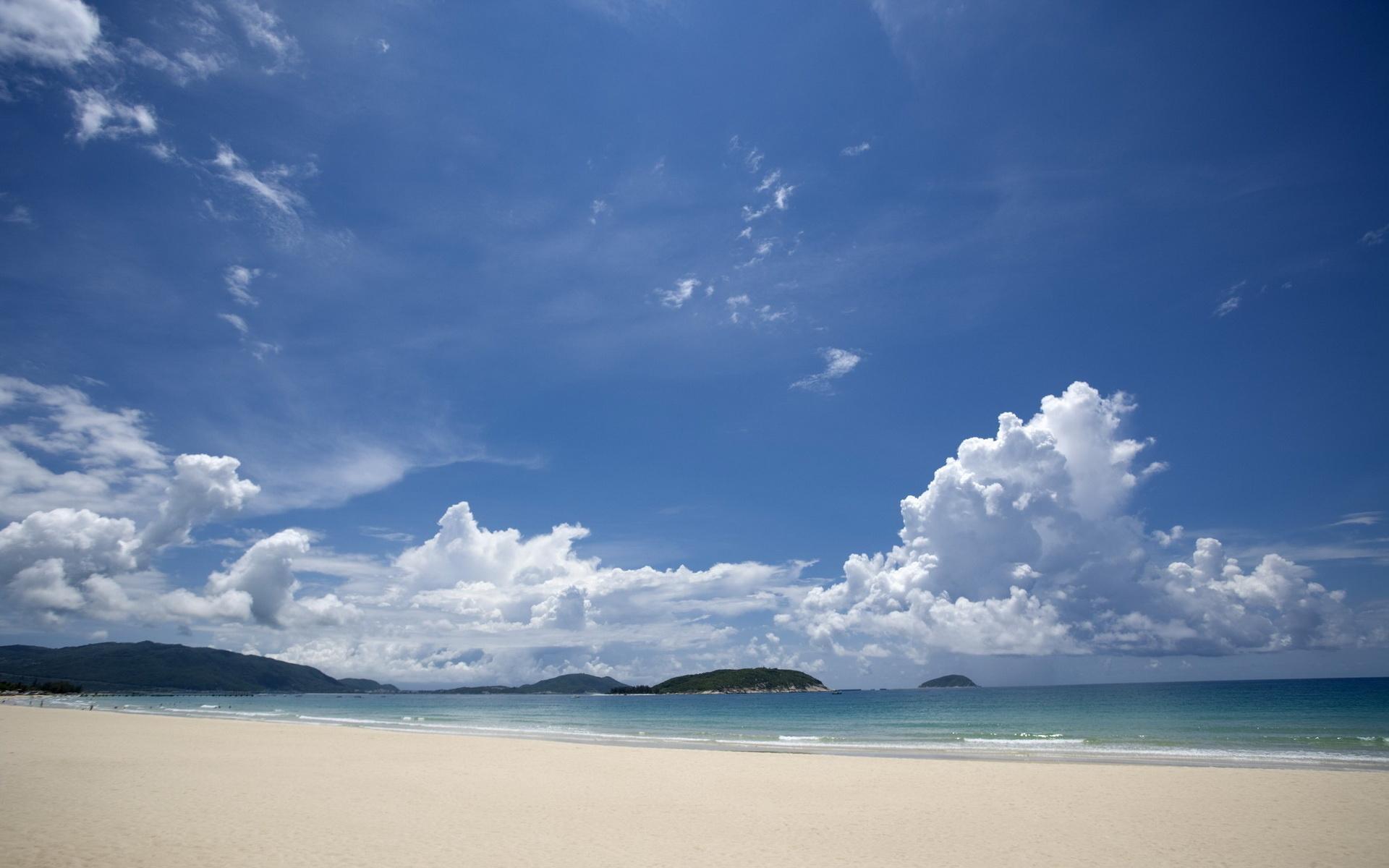 природа море горизонт небо облака пляж берег отдых nature sea horizon the sky clouds beach shore rest  № 821555 без смс