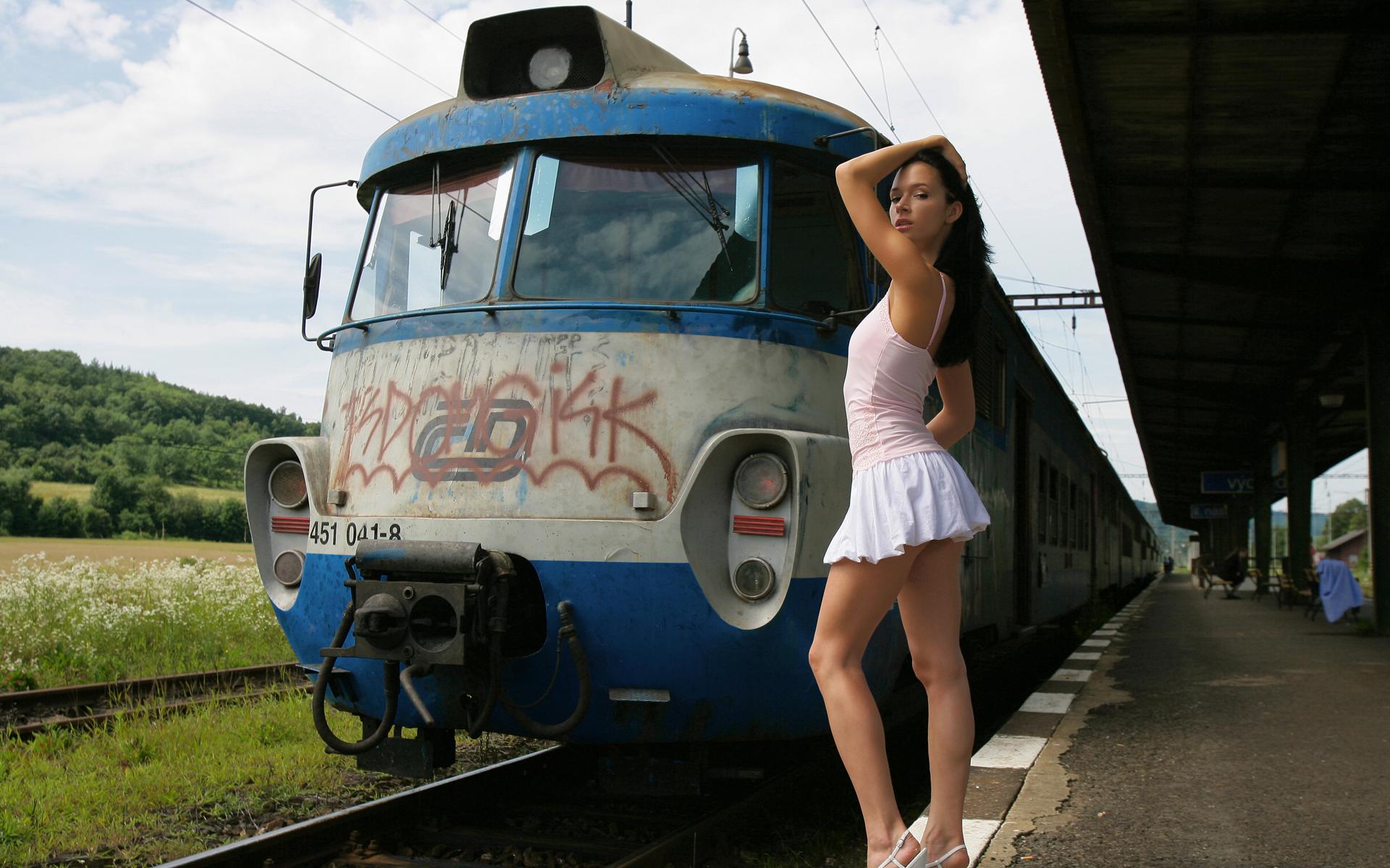 смотреть весь сборник женских поезд фото картинки