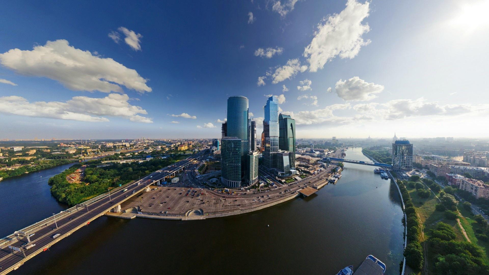 Москва сити ночь архитектура россия Башня на Набережной Город Столиц  № 3716243  скачать