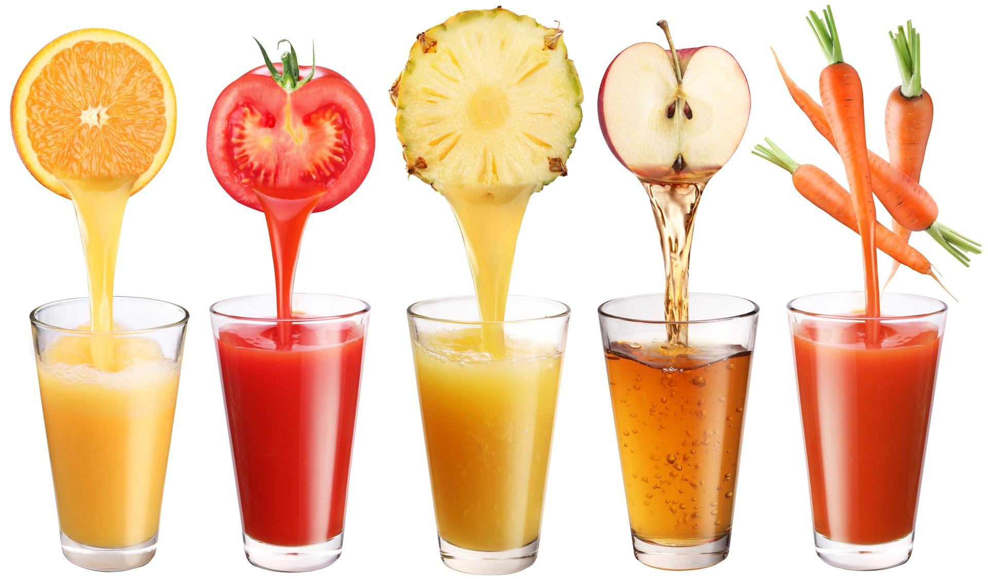 Как сделать обычный сок